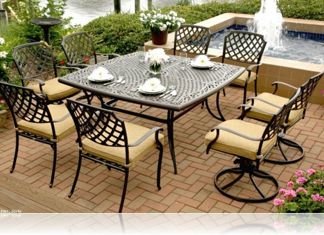 Most Up To Date Patio Conversation Sets At Sears With Regard To Patio : Sears Patio Furniture Sets Unbelievable Photo Ideas Dining (View 6 of 15)