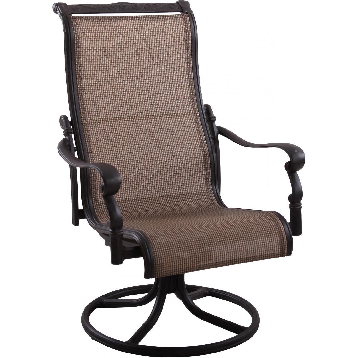 Most Up To Date Patio Sling Rocking Chairs For Darlee Monterey Sling Patio Swivel Rocker Dining Chair Tommy Bahama (View 10 of 15)