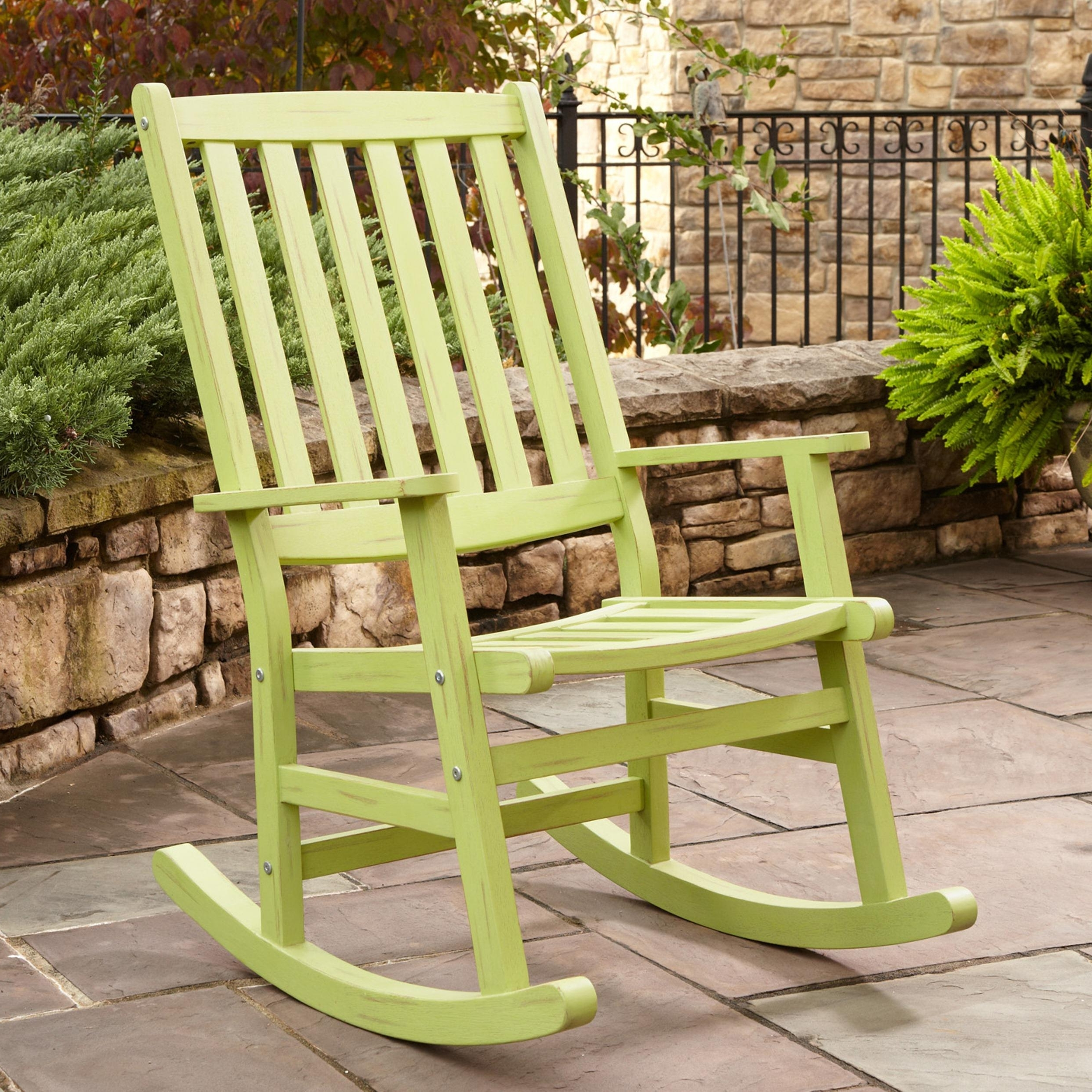 Most Up To Date Small Patio Rocking Chairs Intended For Small Rocking Chair Outdoor – Outdoor Designs (View 5 of 15)