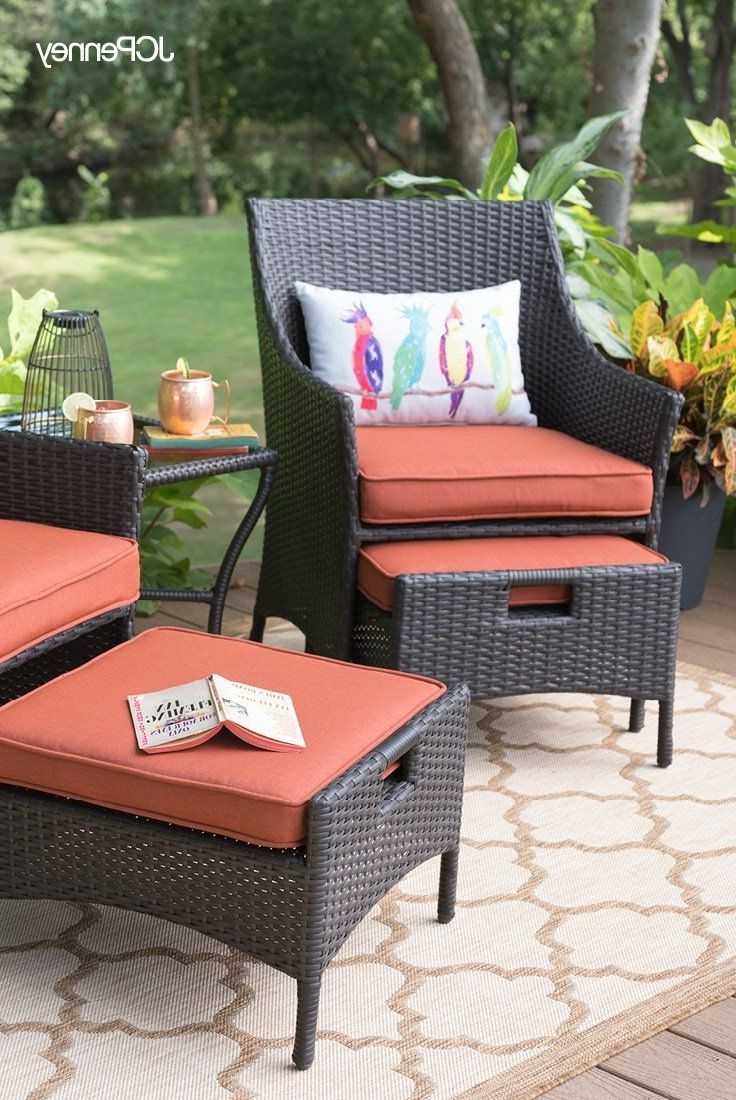 Need Modern Outdoor Furniture For Your Small Space? Meet The Outdoor Throughout Best And Newest Patio Conversation Sets For Small Spaces (View 7 of 15)