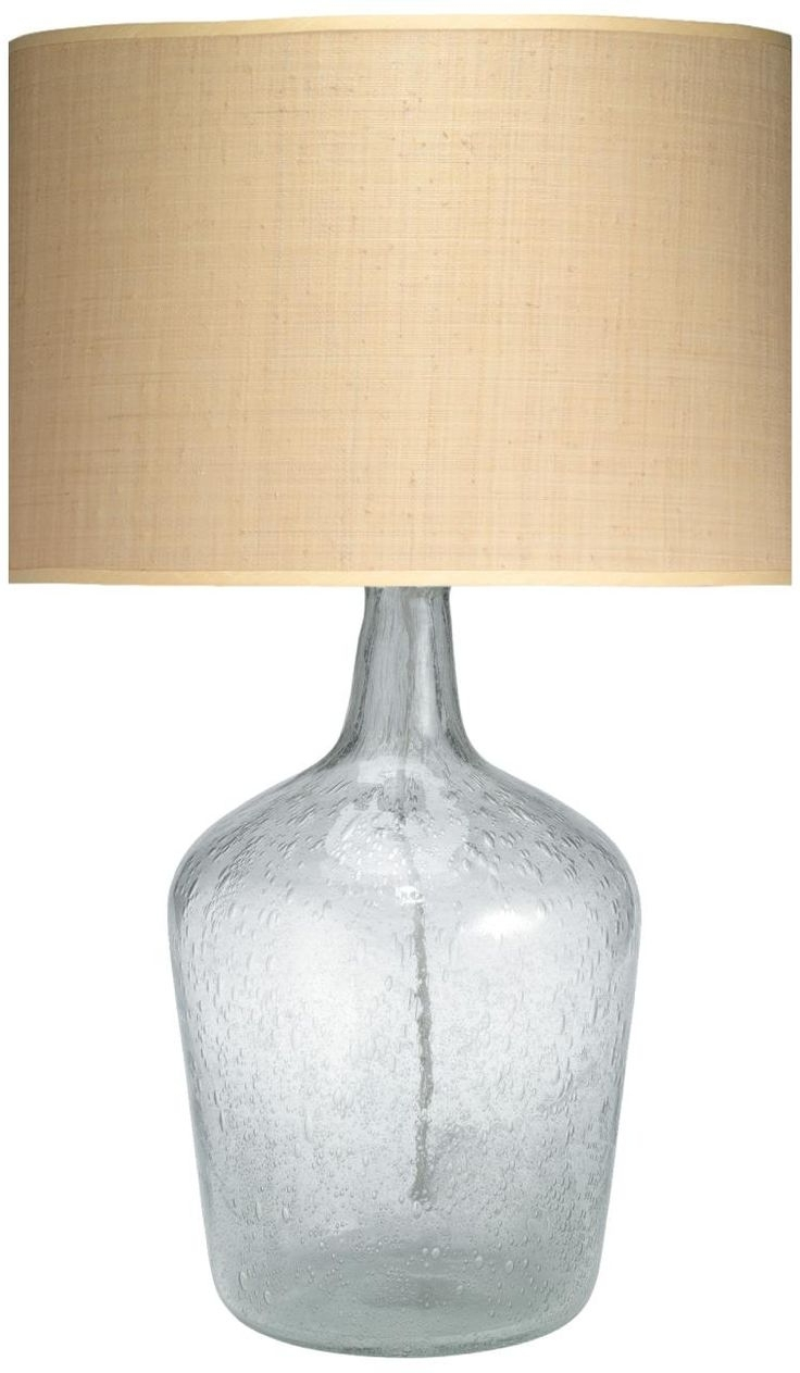 Newest Clear Glass Table Lamps For Living Room » Lamps And Lighting Throughout Clear Table Lamps For Living Room (View 8 of 15)