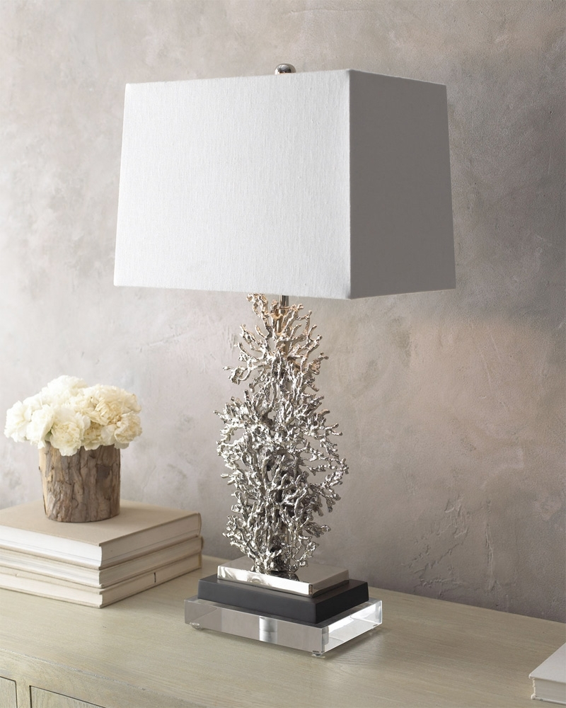 Newest Excellent Ideas Silver Table Lamps Living Room Table Lamp Intended For Silver Table Lamps For Living Room (View 8 of 15)