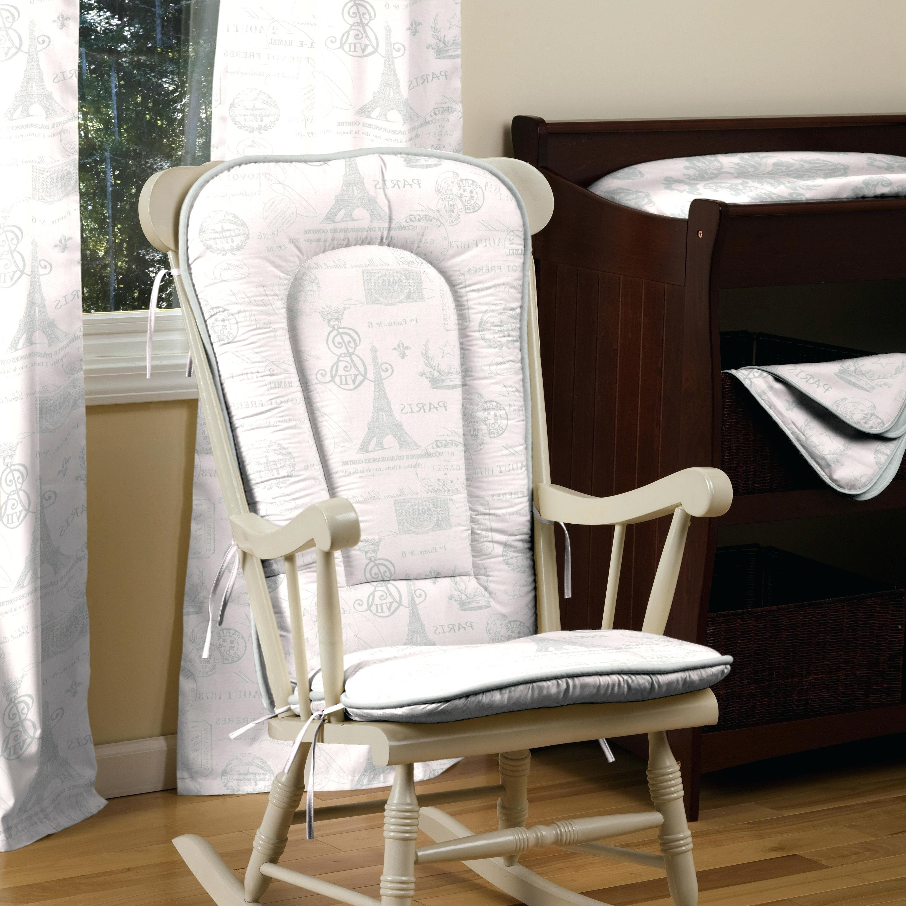 Newest Ireland Rocking Chairs With Padded Rocking Chair S Fabric Chairs Living Room Ireland Upholstered (View 8 of 15)