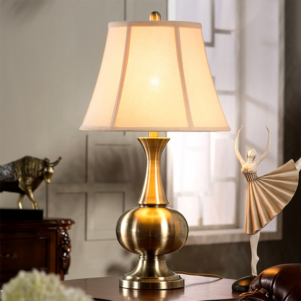 Newest Old World Vintage Style Table Lamps For Living Room Living Room Inside Country Living Room Table Lamps (View 8 of 15)