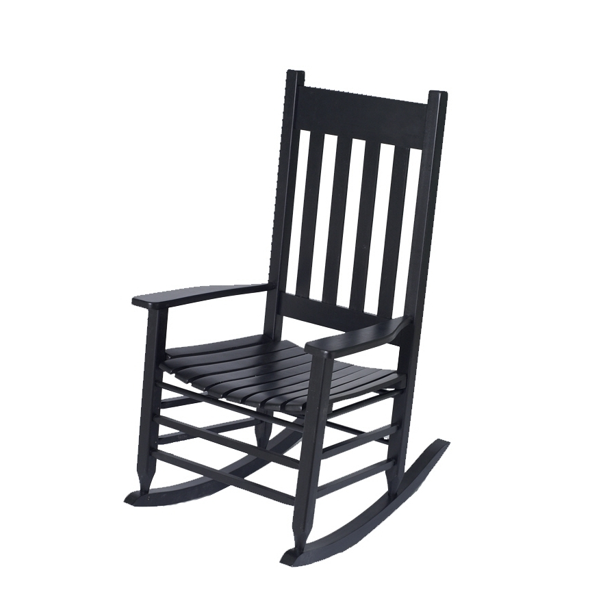 Newest Rocking Chairs For Garden Throughout Shop Garden Treasures Patio Rocking Chair At Lowes (View 6 of 15)