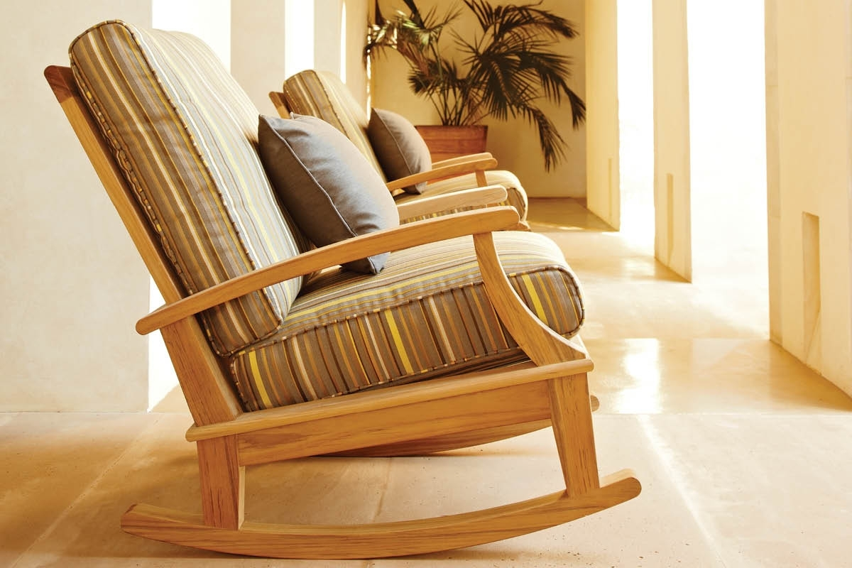 Featured Photo of Teak Patio Rocking Chairs