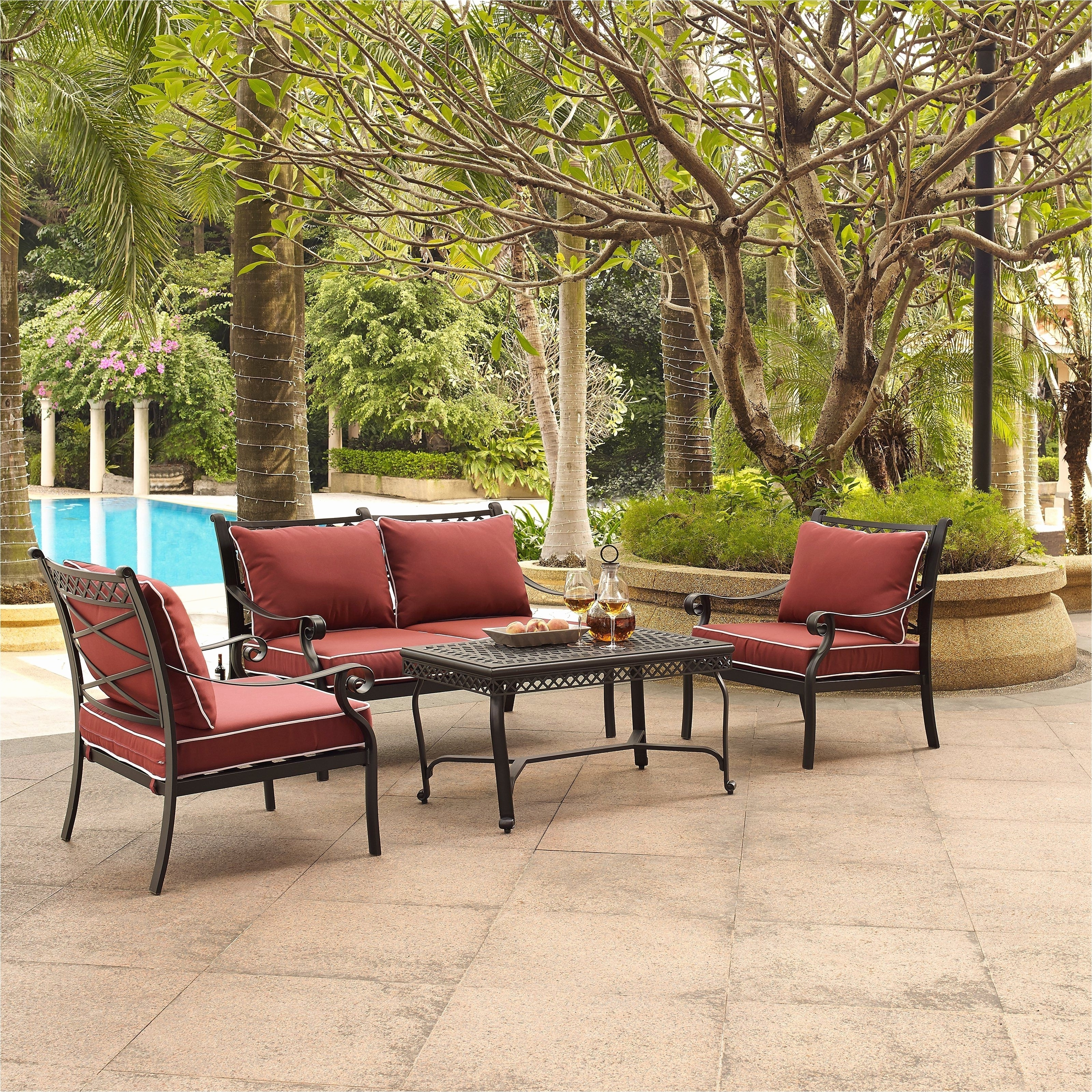 Nfm Patio Conversation Sets Inside Preferred Patio Conversation Sets Under 500 Amazing Portofino Outdoor (View 11 of 15)