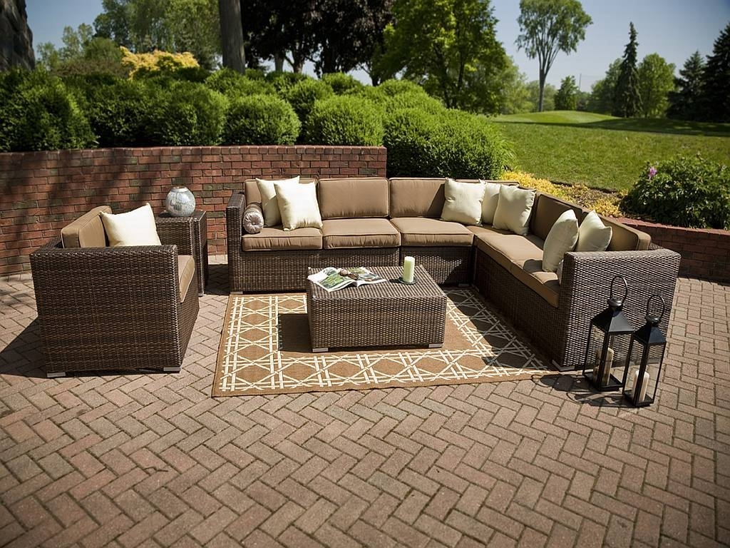 Nfm Patio Conversation Sets With Latest Top Outdoor Wicker Patio Furniture Sets : Sathoud Decors – Wicker (View 12 of 15)