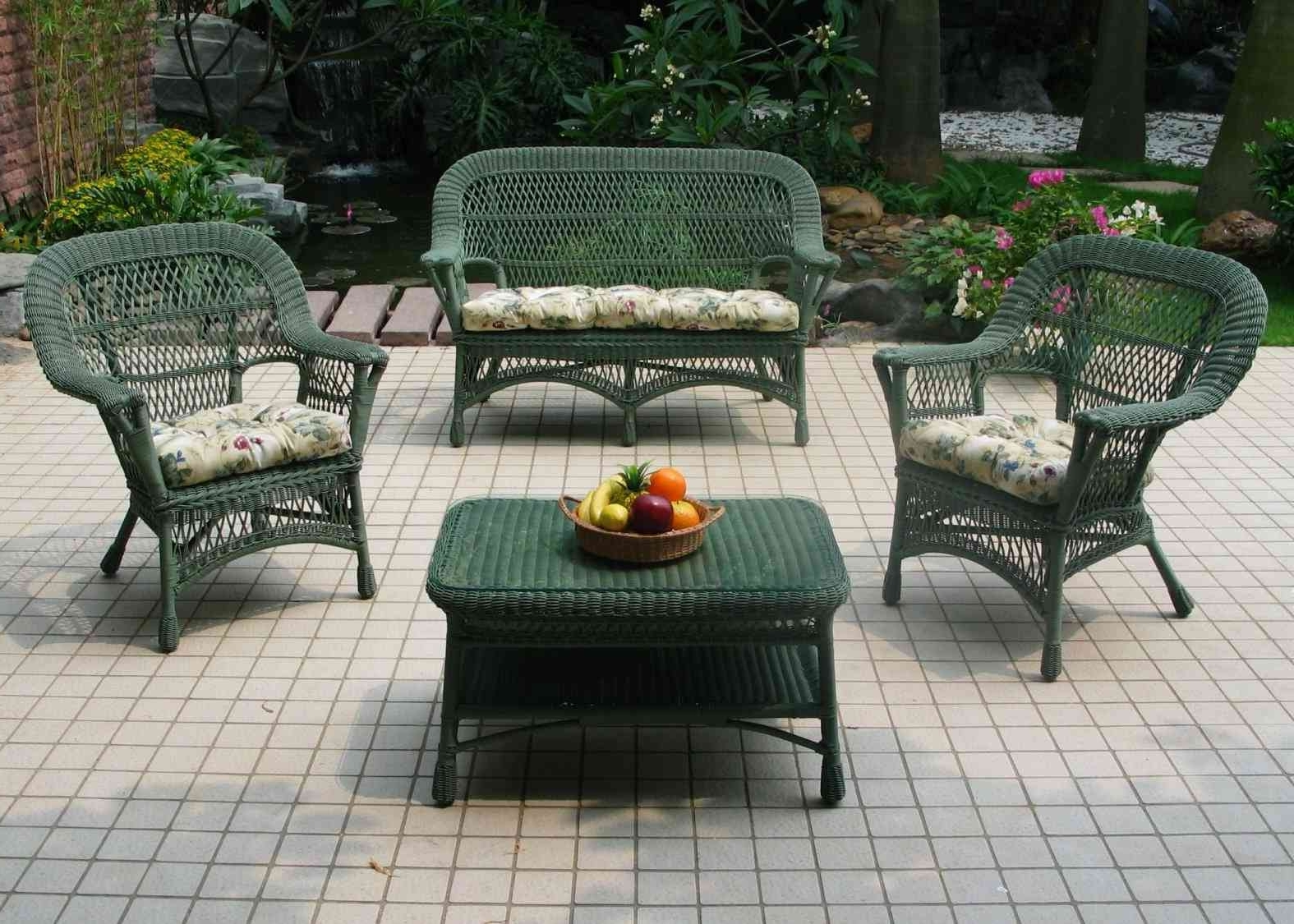 Nfm Patio Conversation Sets With Regard To Best And Newest Small Outdoor Wicker Patio Furniture Ideas : Sathoud Decors – Repair (View 4 of 15)