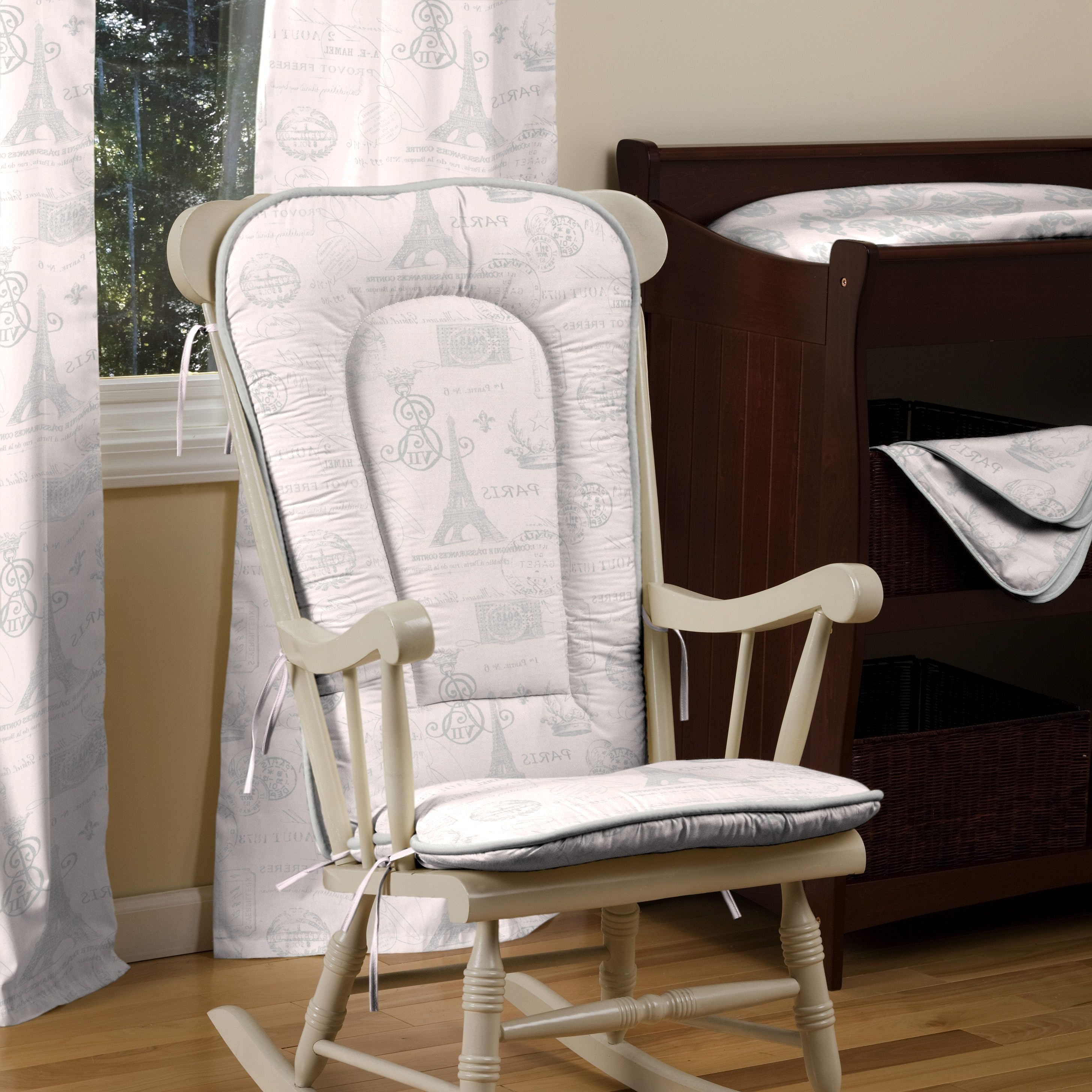 Nursery Inside Popular Rocking Chairs With Cushions (View 5 of 15)