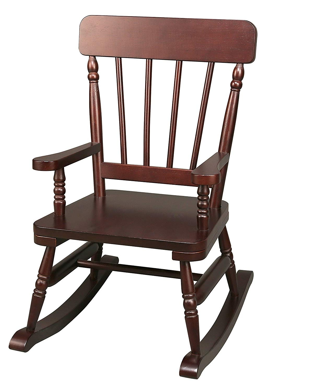 Old Fashioned Rocking Chairs With Newest Amazon: Wildkin Emerson Espresso Rocking Chair: Kitchen & Dining (View 4 of 15)