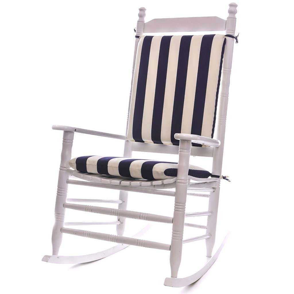 Featured Photo of Outdoor Rocking Chairs With Cushions