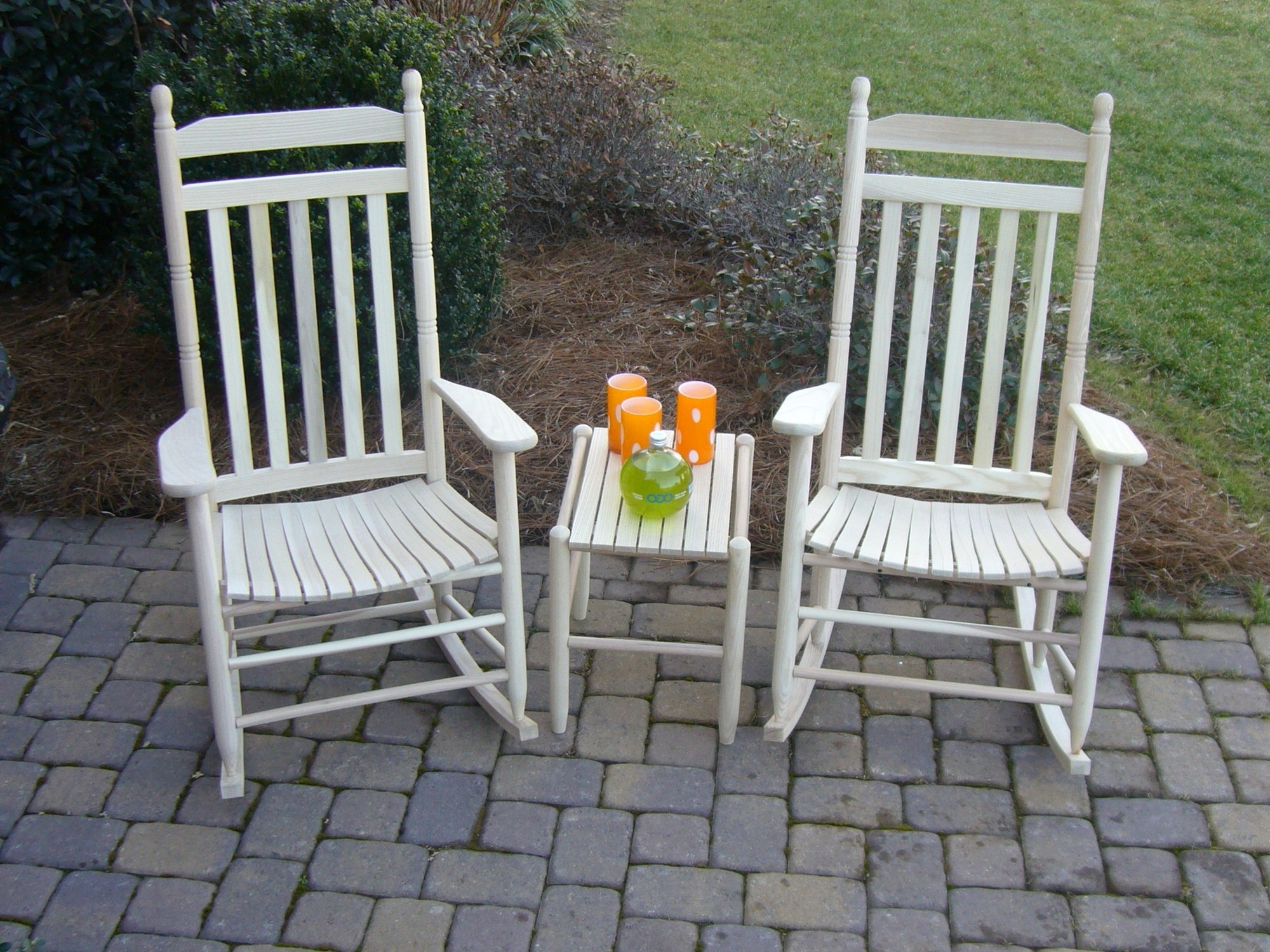 Outdoor Rocking Chairs With Table Throughout Recent Extraordinary Porch Table And Chairs Inspirational Furniture Outdoor (View 11 of 15)