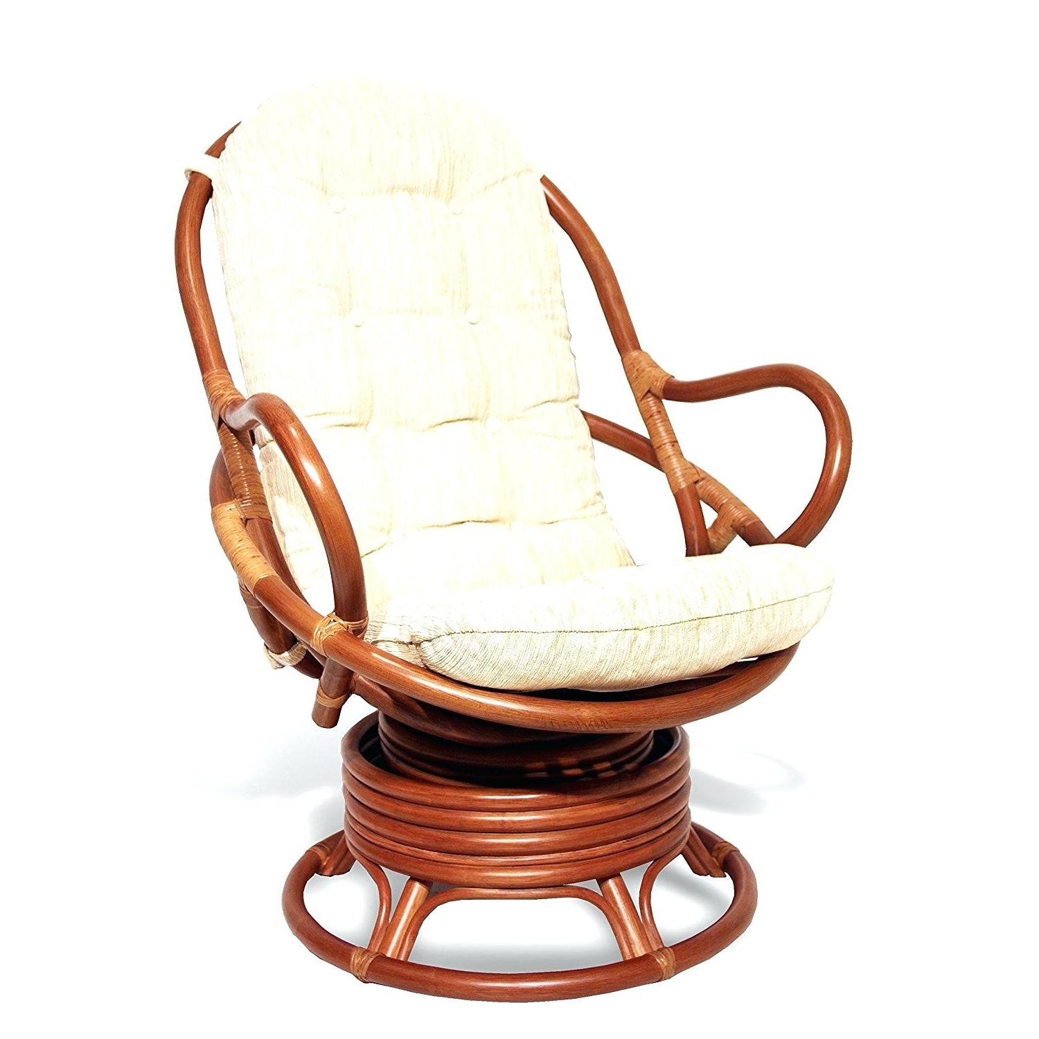 Outdoor Wicker Rocking Chairs With Cushions With Regard To Well Known Cushion : Wicker Rocking Chair Followfirefish Com Cushions Cushion (View 11 of 15)