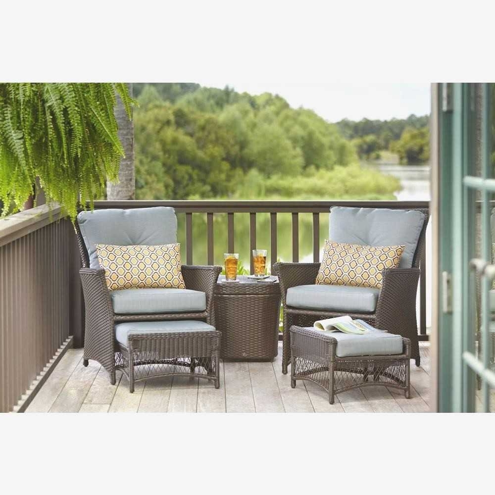 Patio Conversation Set With Ottoman – Patio Designs Within Current Patio Conversation Sets With Ottoman (View 5 of 15)