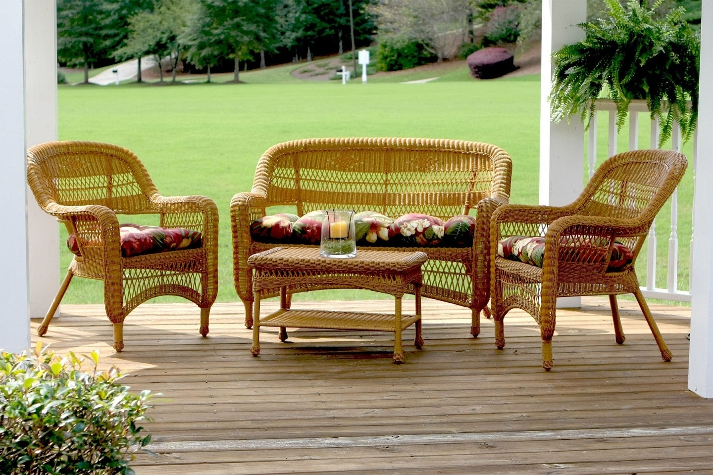 Patio Conversation Sets At Lowes Throughout Most Current Wrought Iron Patio Furniture Lowes – Wonderful Wicker Patio (View 10 of 15)