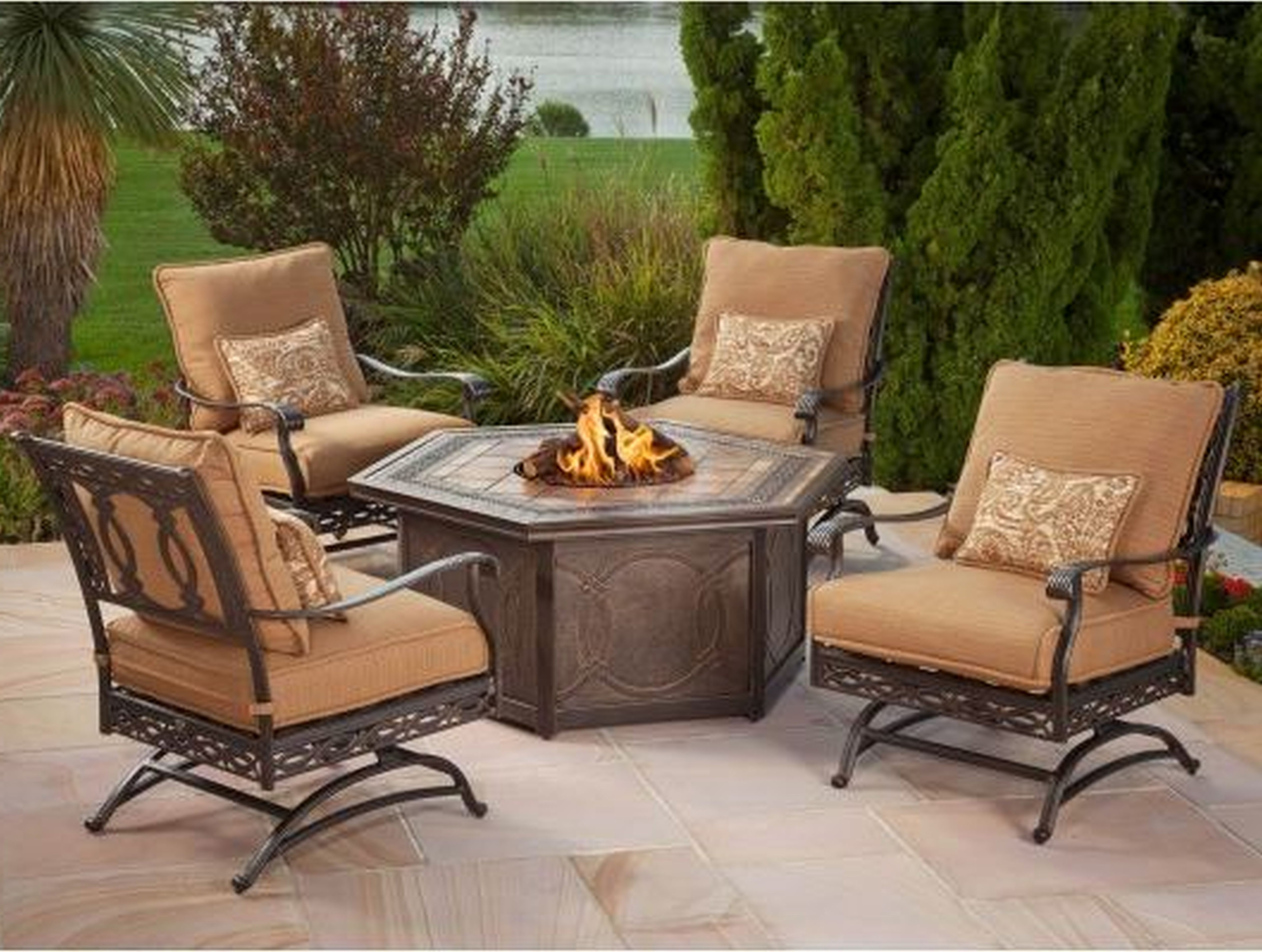 Patio Conversation Sets At Lowes With Most Recent Fortune Lowes Outdoor Furniture Clearance Patio Home Design (View 9 of 15)