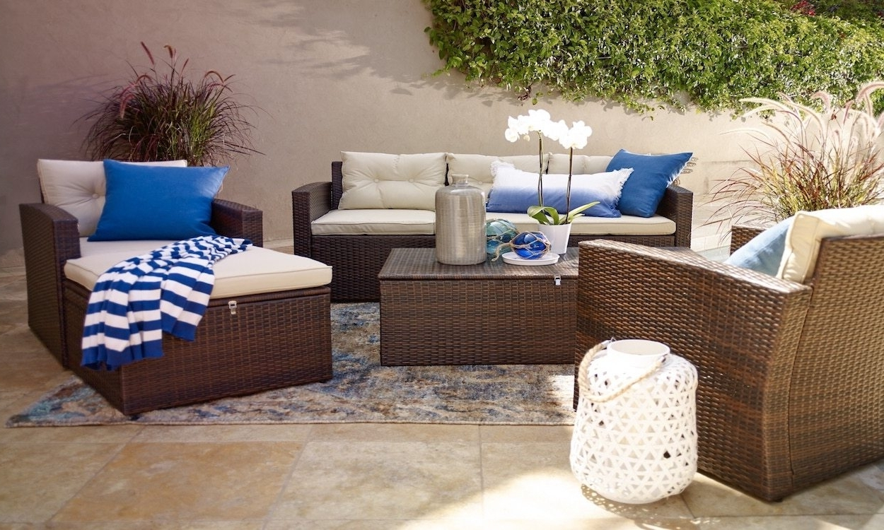 Patio Conversation Sets For Small Spaces For Fashionable Best Of Small Conversation Patio Furniture Between Two Friends Talk (View 9 of 15)