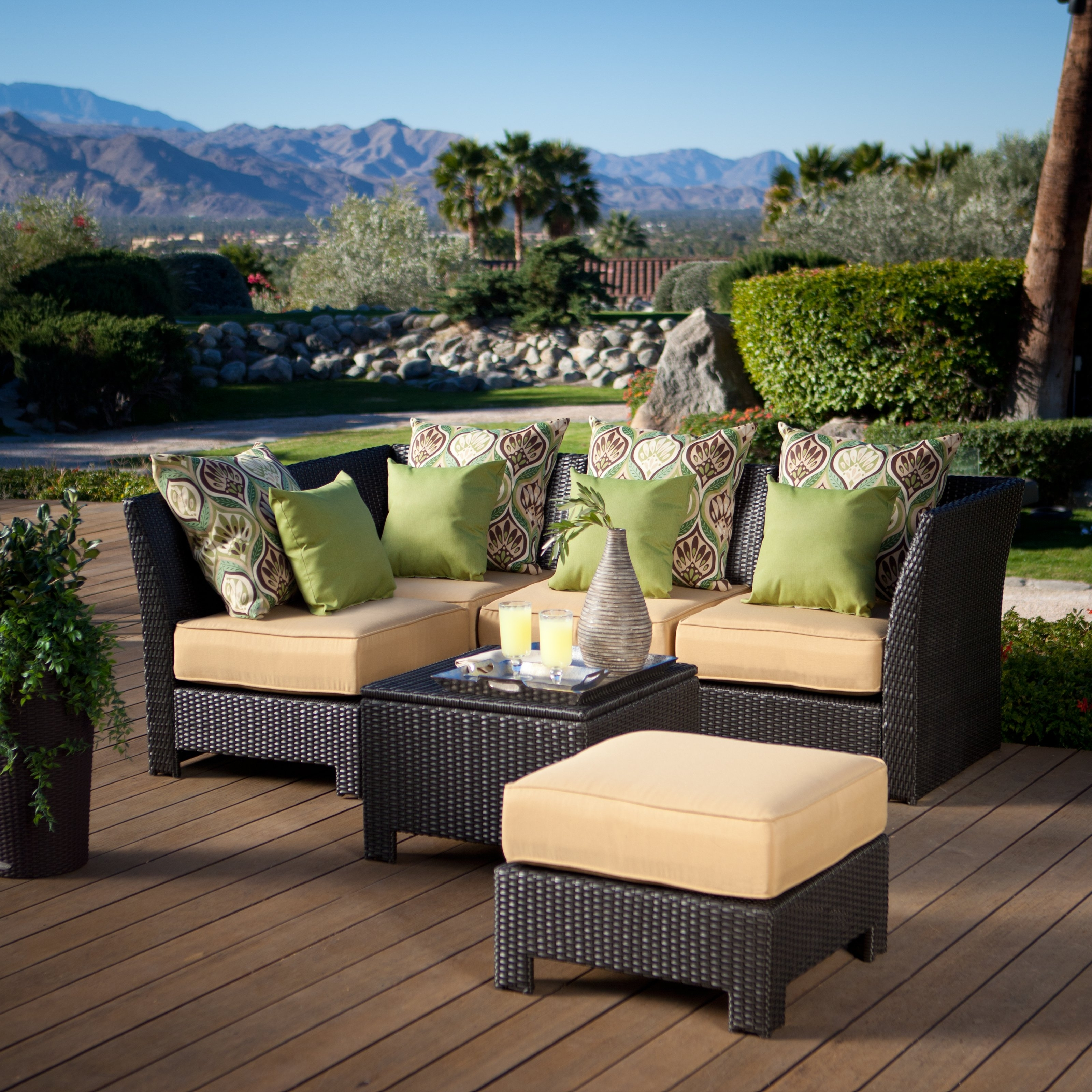 Patio Conversation Sets Under $400 Regarding Fashionable Patio Conversation Sets Wicker » Design And Ideas (View 11 of 15)