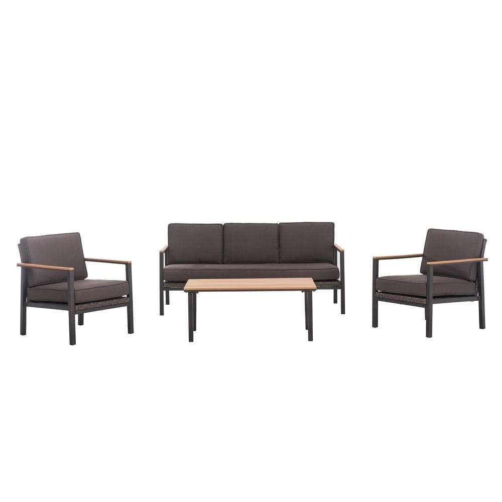 Patio Conversation Sets Under $500 Regarding Trendy Sunjoy – Patio Conversation Sets – Outdoor Lounge Furniture – The (View 9 of 15)