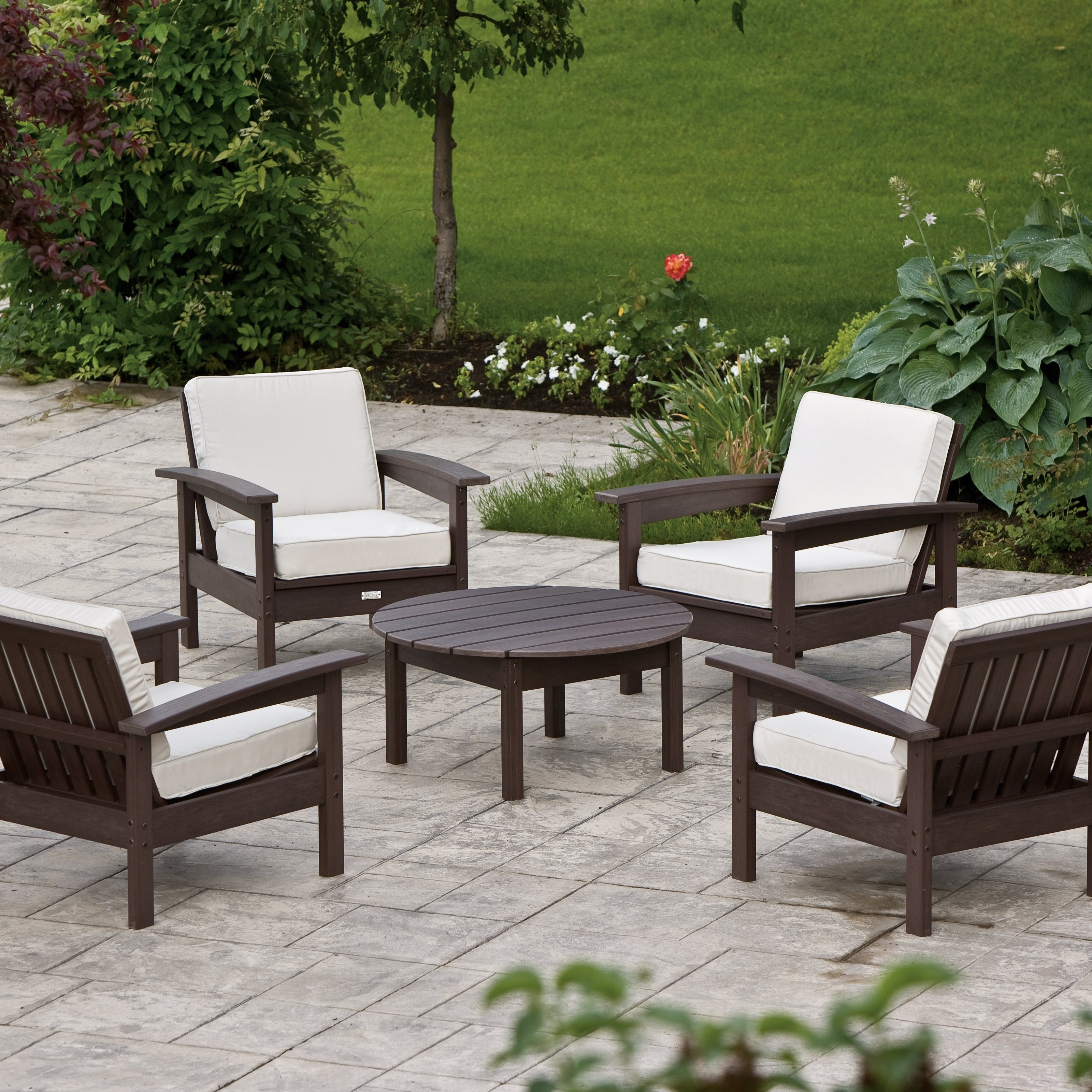 Patio Conversation Sets Without Cushions Regarding 2018 Outdoor Patio Furniture Without Cushions – Furniture Designs (View 3 of 15)