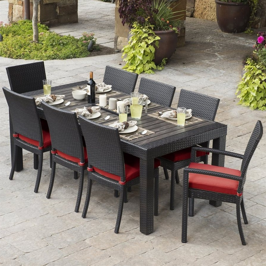 Patio Dining Sets – Great Way To Add The New Look To Your Patio Pertaining To 2018 Patio Conversation Dining Sets (View 11 of 15)