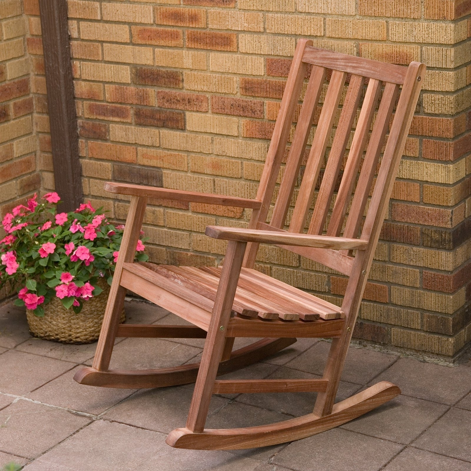 Patio & Garden : Outdoor Rocking Chair Lowes Outdoor Rocking Chair Within Most Recently Released Wicker Rocking Chairs And Ottoman (View 13 of 15)