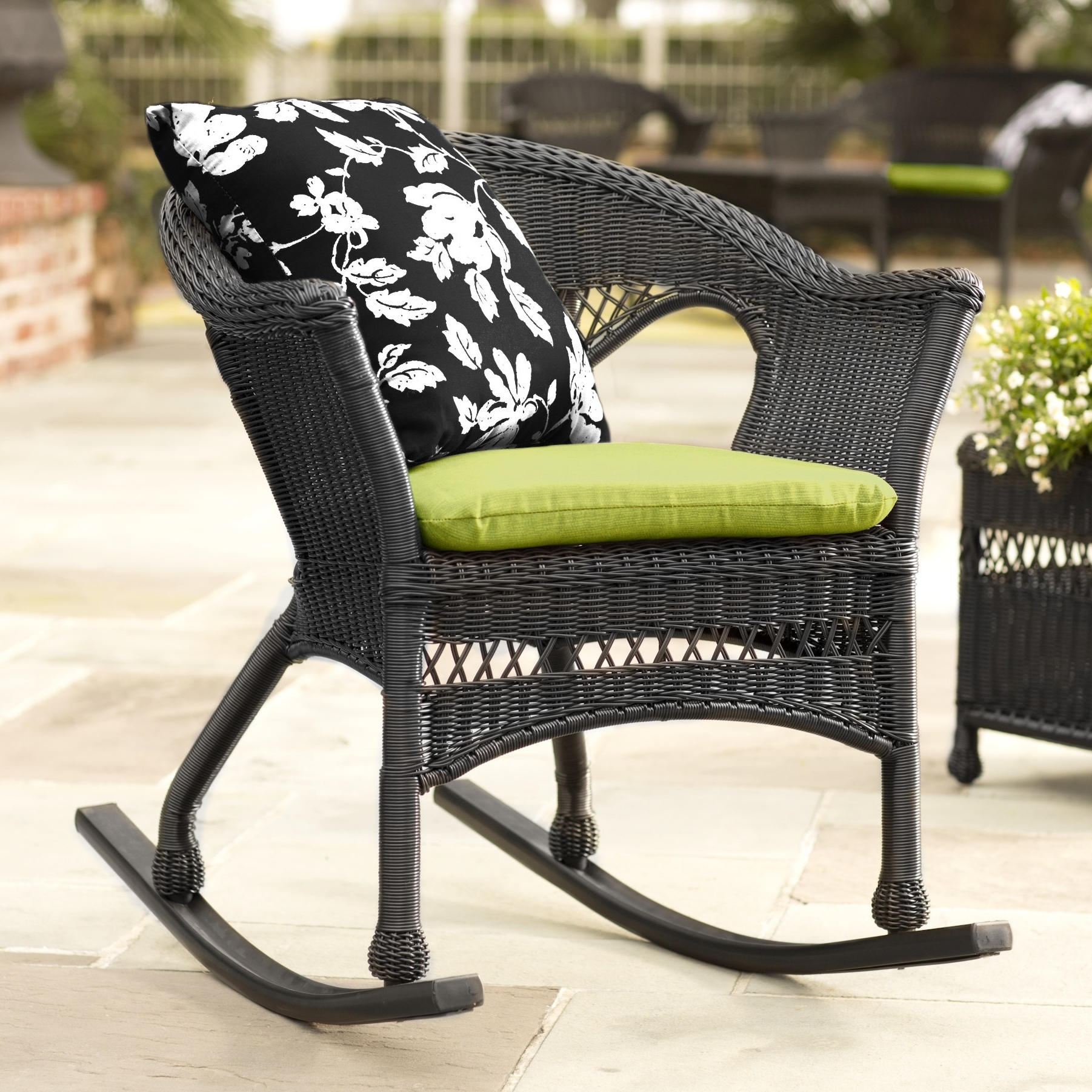 Patio Rocking Chairs And Gliders Pertaining To Popular Rocker Chair (View 12 of 15)