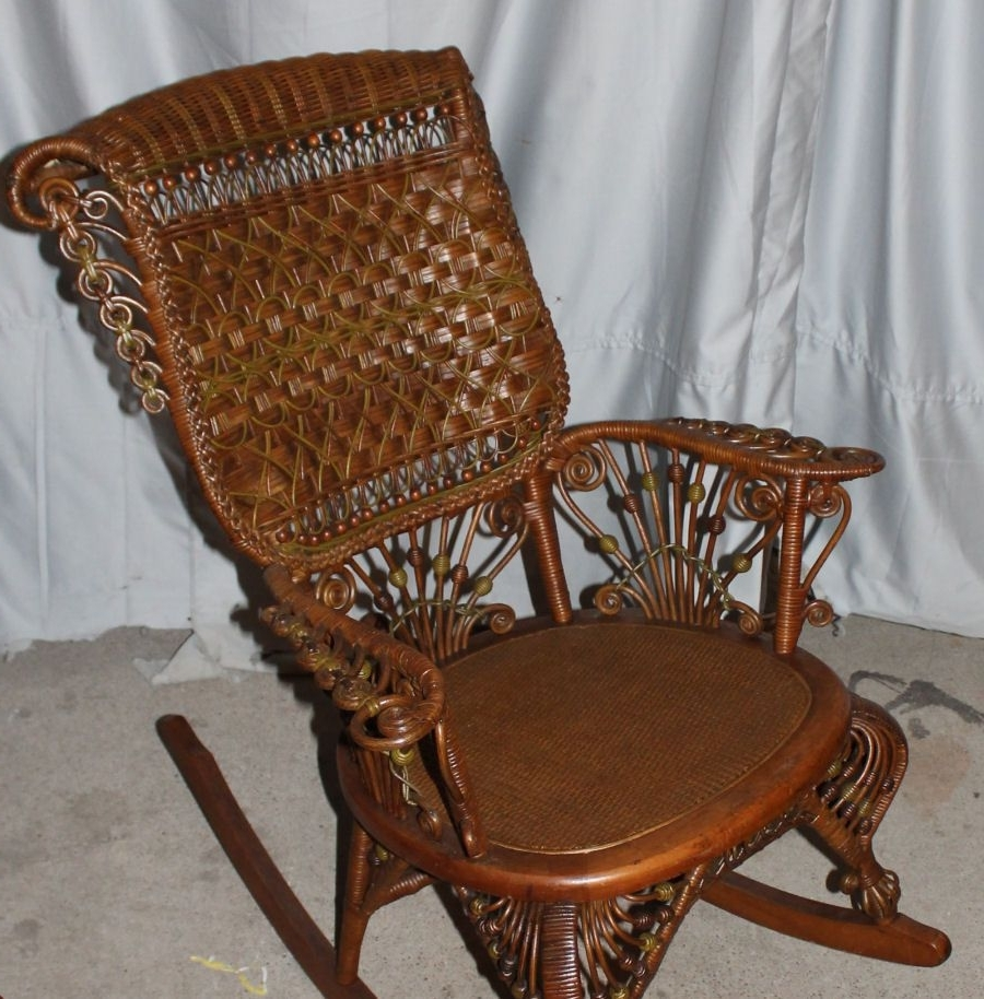 Pinterest Pertaining To Wicker Rocking Chair With Magazine Holder (View 12 of 15)