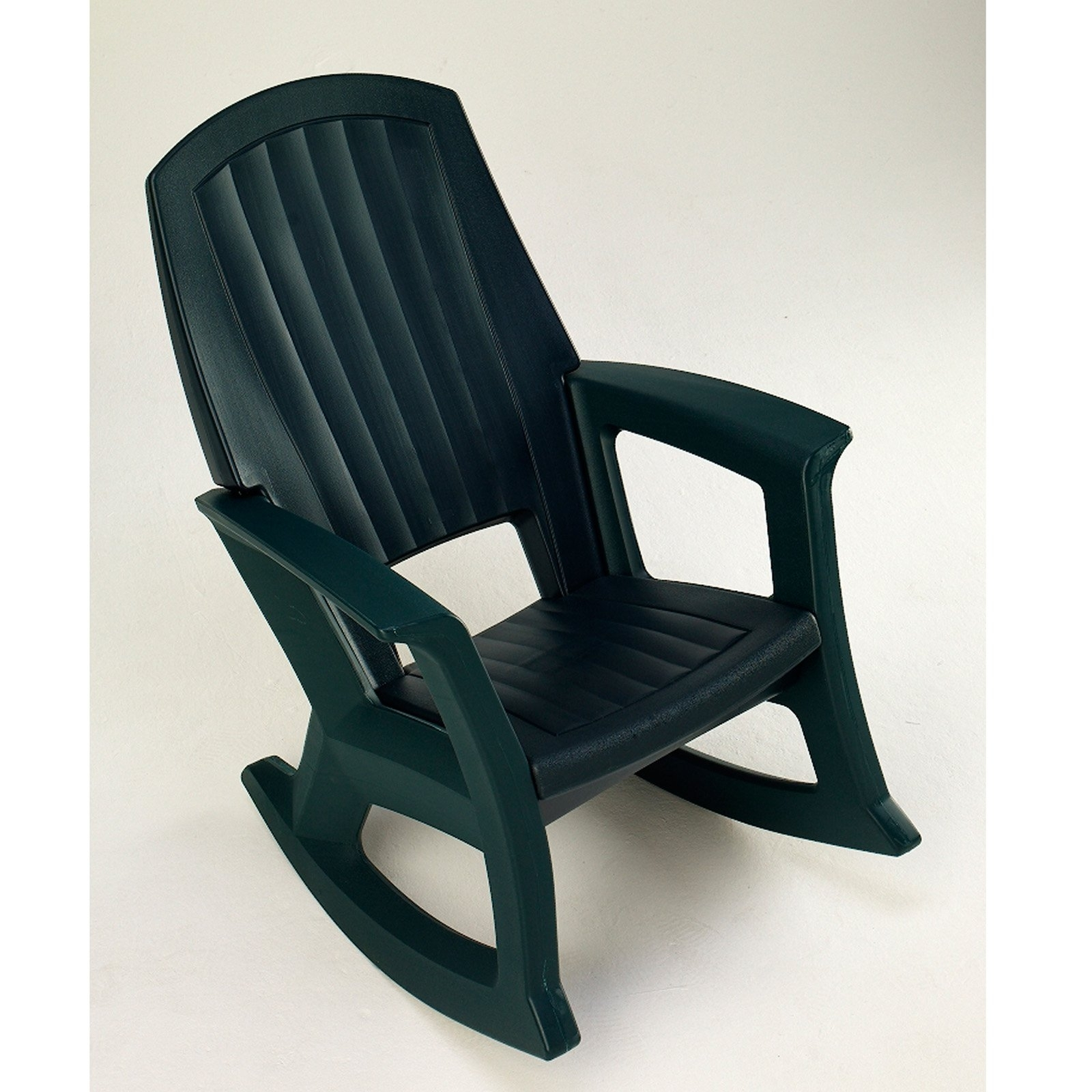 Plastic Patio Rocking Chairs Throughout Current Semco Recycled Plastic Rocking Chair – Walmart (View 14 of 15)