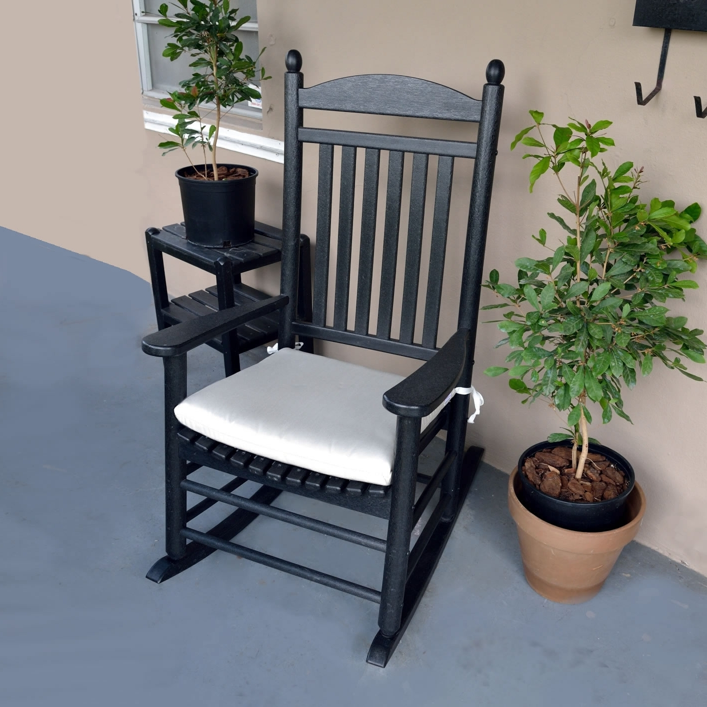 Polywood Rocking Chair Seat Cushions – Outdoor Cushions – Accessories Pertaining To Popular Rocking Chair Cushions For Outdoor (View 9 of 15)
