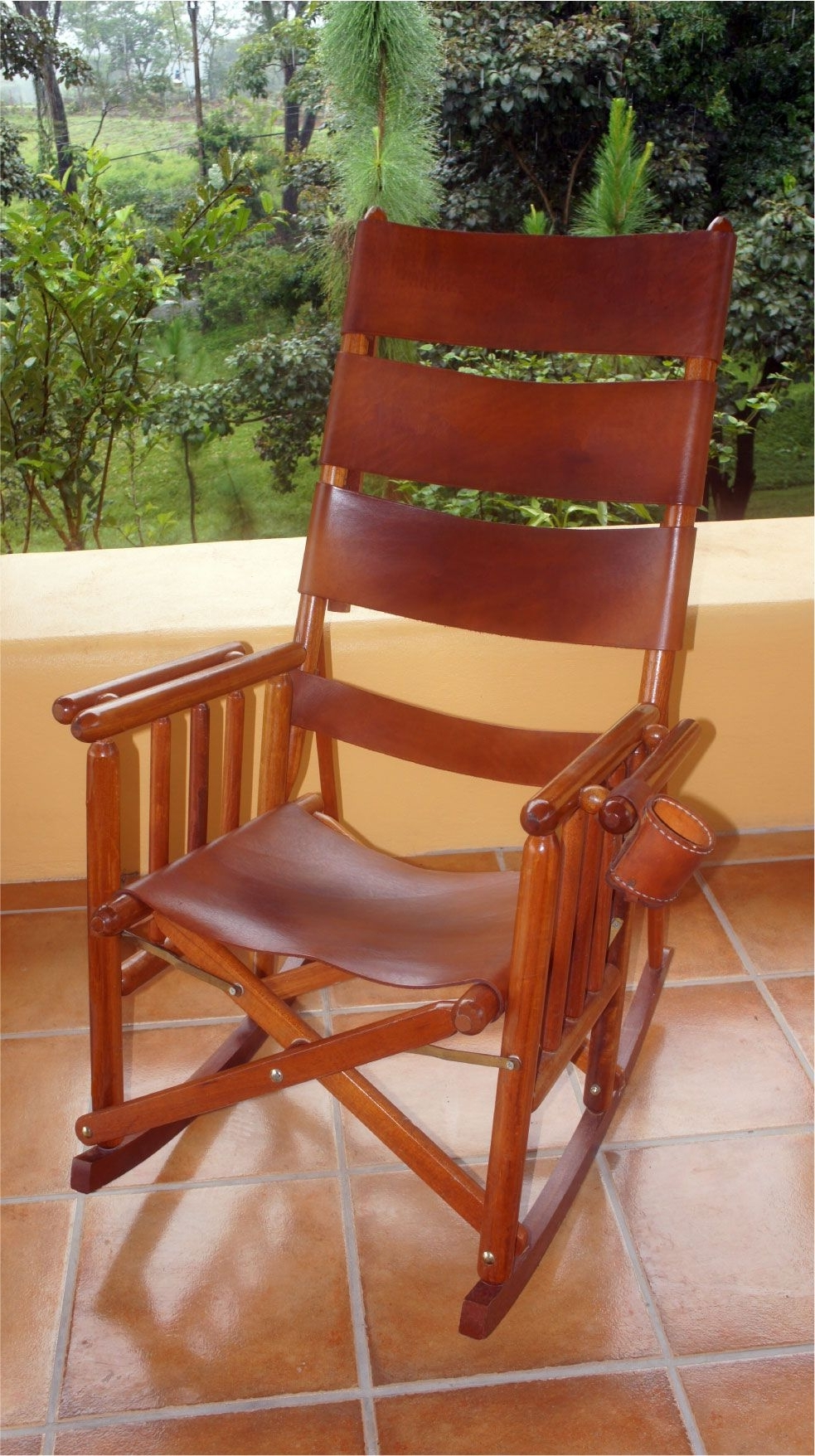 Popular Costa Rican Rocking Chair – High Back I So Regret Not Buying This Intended For Rocking Chairs With Lumbar Support (View 7 of 15)