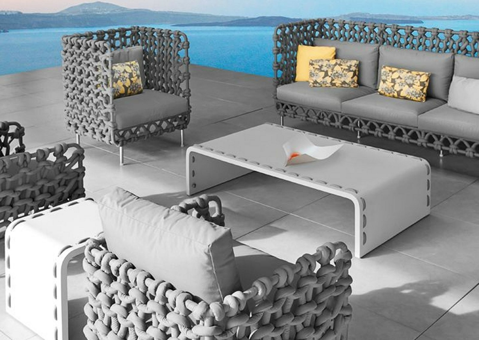 Popular Of Gray Patio Furniture Fashionable Grey Patio Furniture In Newest Gray Patio Conversation Sets (View 9 of 15)