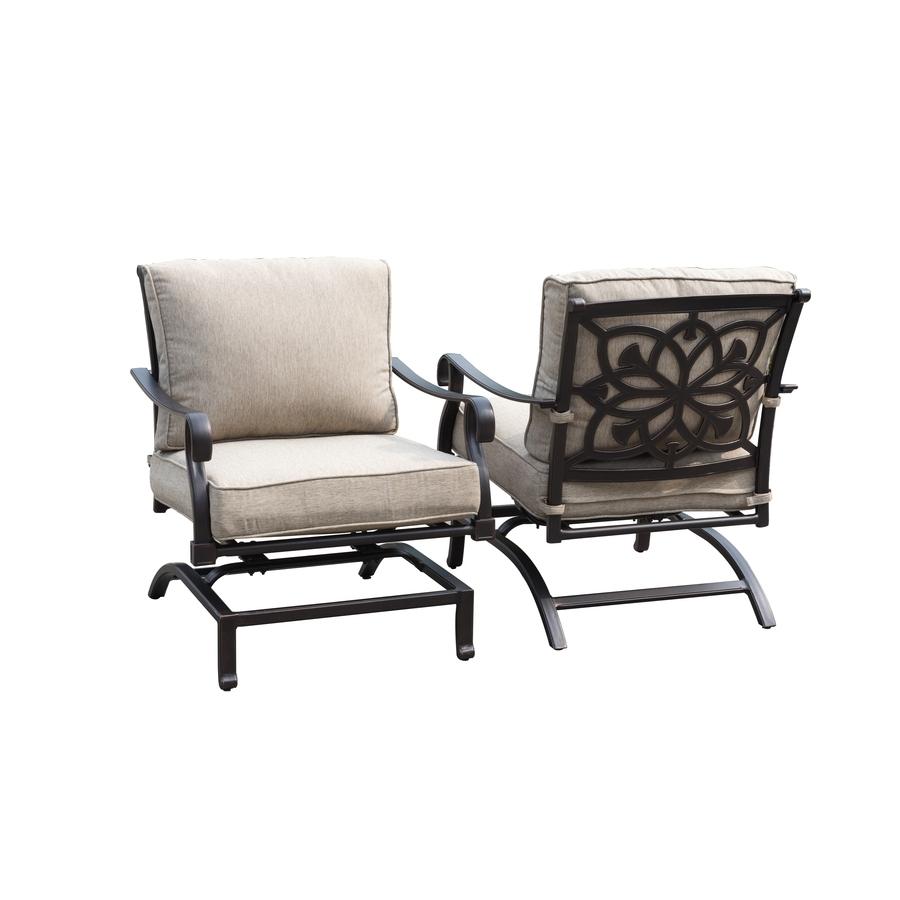 Popular Patio : Patio Aluminium Furniture Aluminum Rocking Chair Swivel With Regard To Aluminum Patio Rocking Chairs (View 14 of 15)