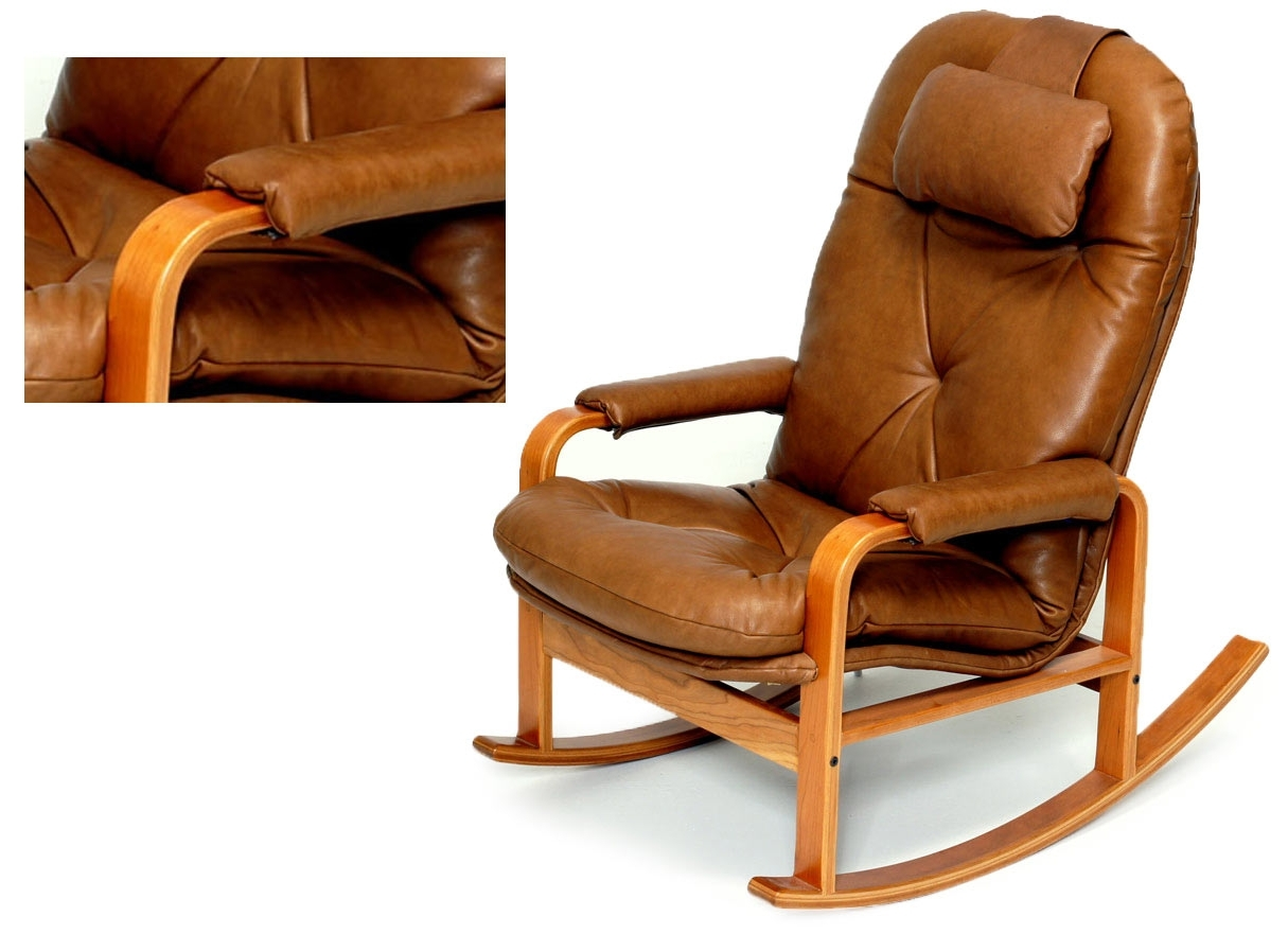 Popular Rocking Chairs With Lumbar Support Pertaining To Rocking Chairs For Every Body – Brigger Furniture (View 9 of 15)