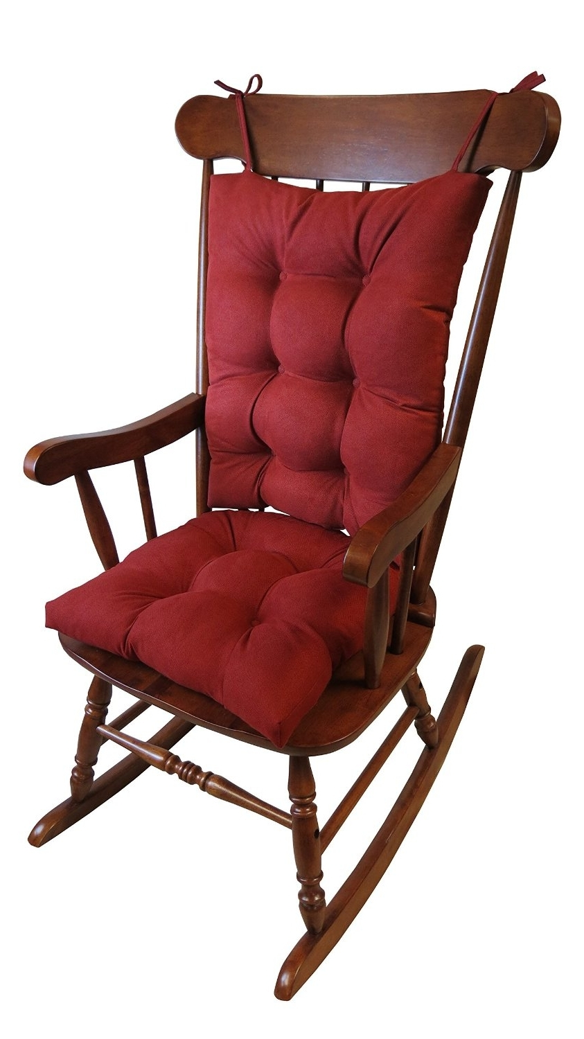 Popular Rocking Chairs With Lumbar Support Regarding Best Rocking Chair Cushions  (View 10 of 15)