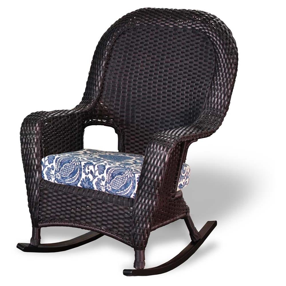Popular Tortuga Outdoor Lexington Wicker Rocker – Wicker Inside Outdoor Wicker Rocking Chairs (View 10 of 15)