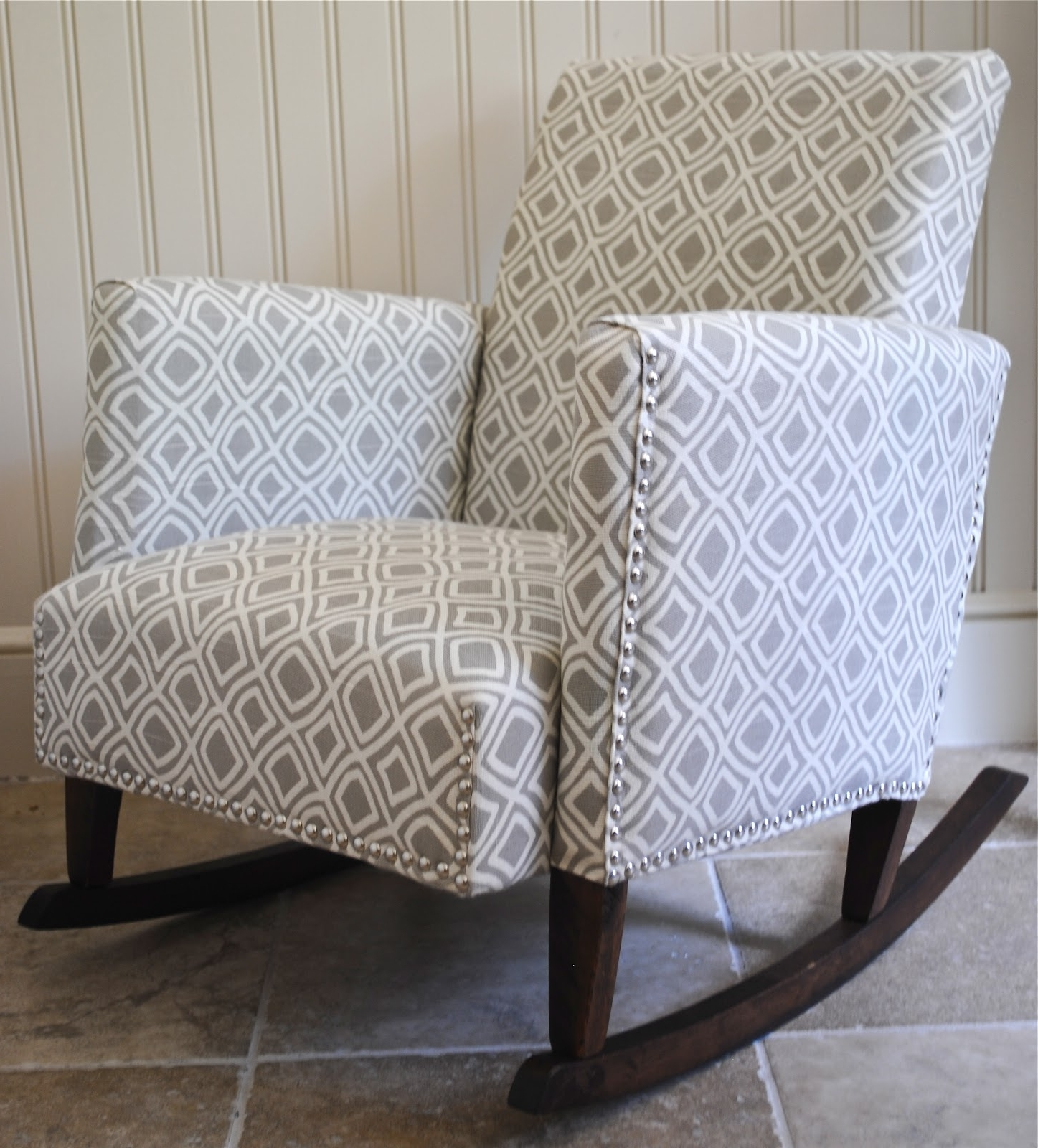 Popular Upholstered Rocking Chairs With Regard To Diy}Ish Upholstered Child's Rocking Chair – The Chronicles Of Home (View 3 of 15)