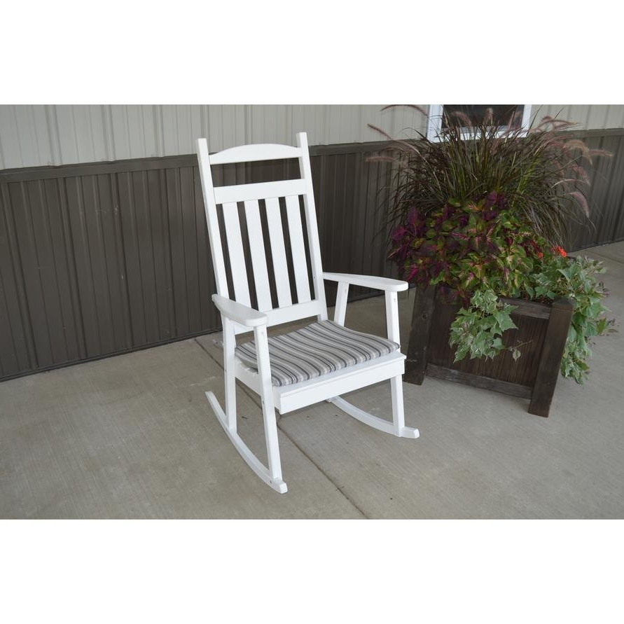 Popular Yellow Outdoor Rocking Chairs For A&l Furniture Co (View 11 of 15)