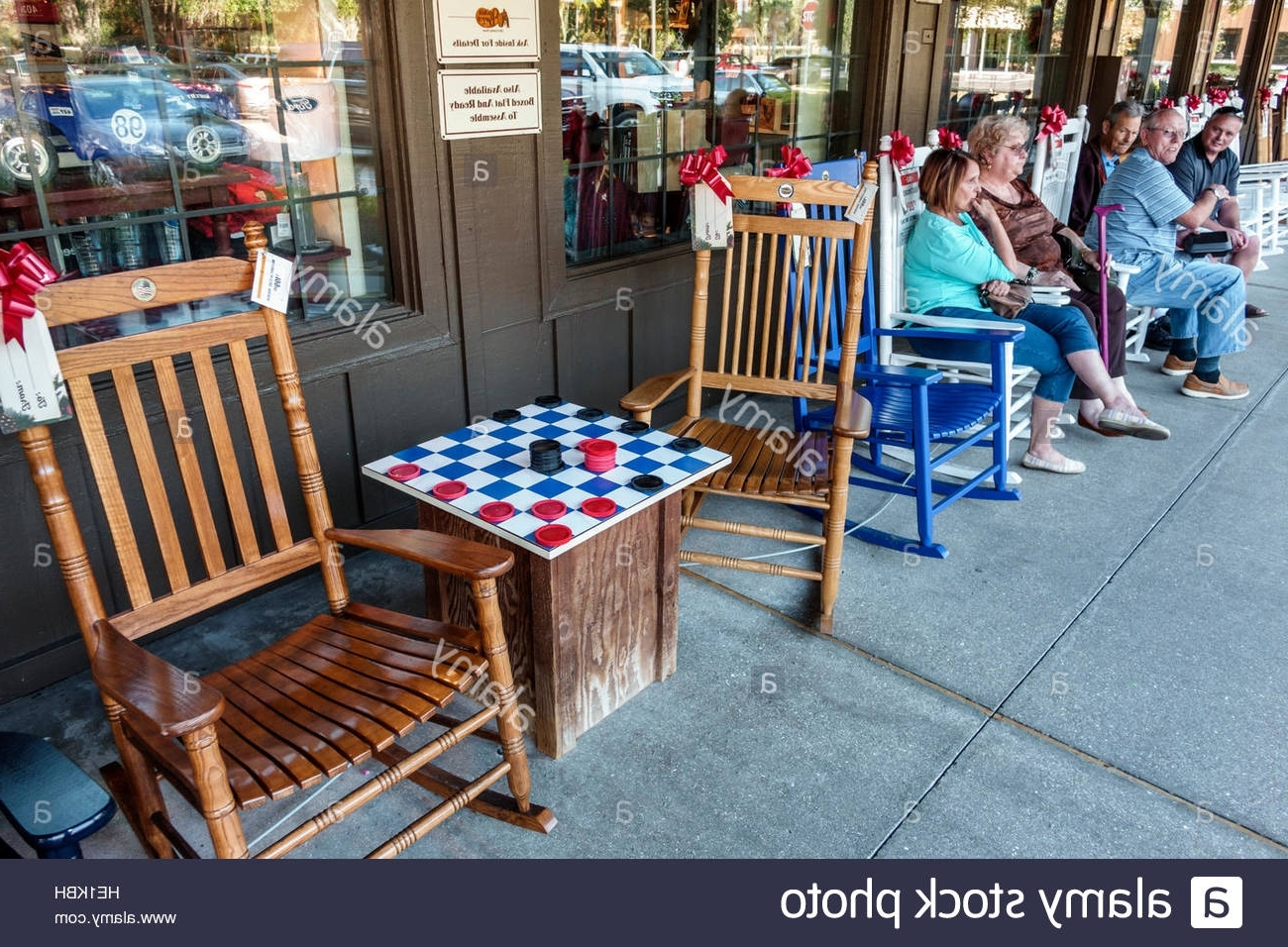Port Charlotte Florida Cracker Barrel Old Country Store Restaurant Inside Most Current Rocking Chairs At Cracker Barrel (View 9 of 15)