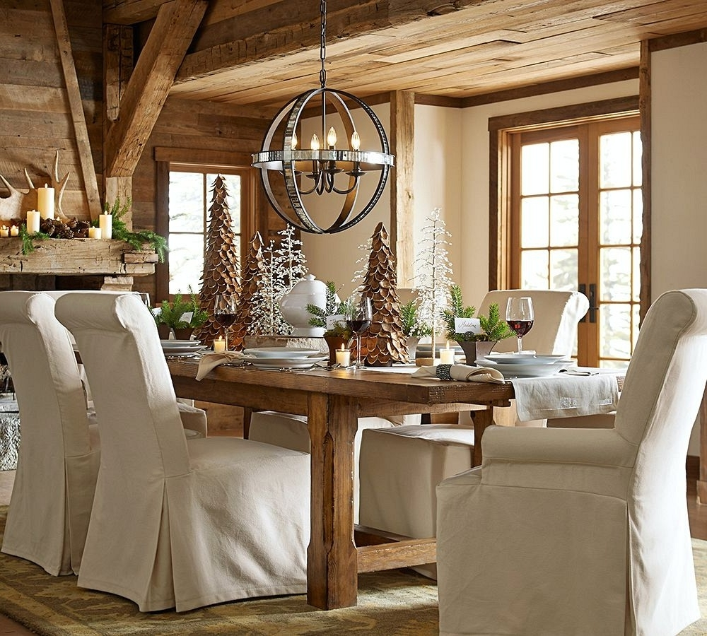 Pottery Barn Table Lamps For Living Room Intended For Famous Chair (View 7 of 15)
