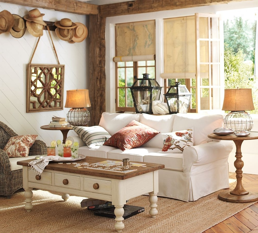 Pottery Barn Table Lamps For Living Room Pertaining To Recent Furniture : Living Room Pottery Barn Interesting Appealing Gorgeous (View 6 of 15)