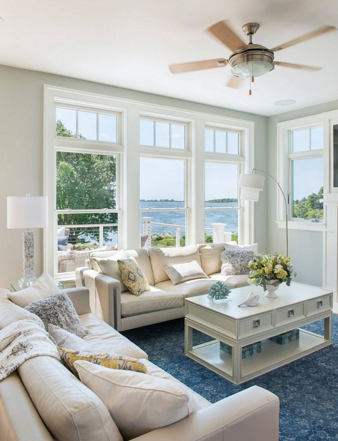 Preferred Coastal Living Room Table Lamps Throughout Beach Themed Floor Lamps Unique Nautical Coastal Living Room Ideas (View 2 of 15)