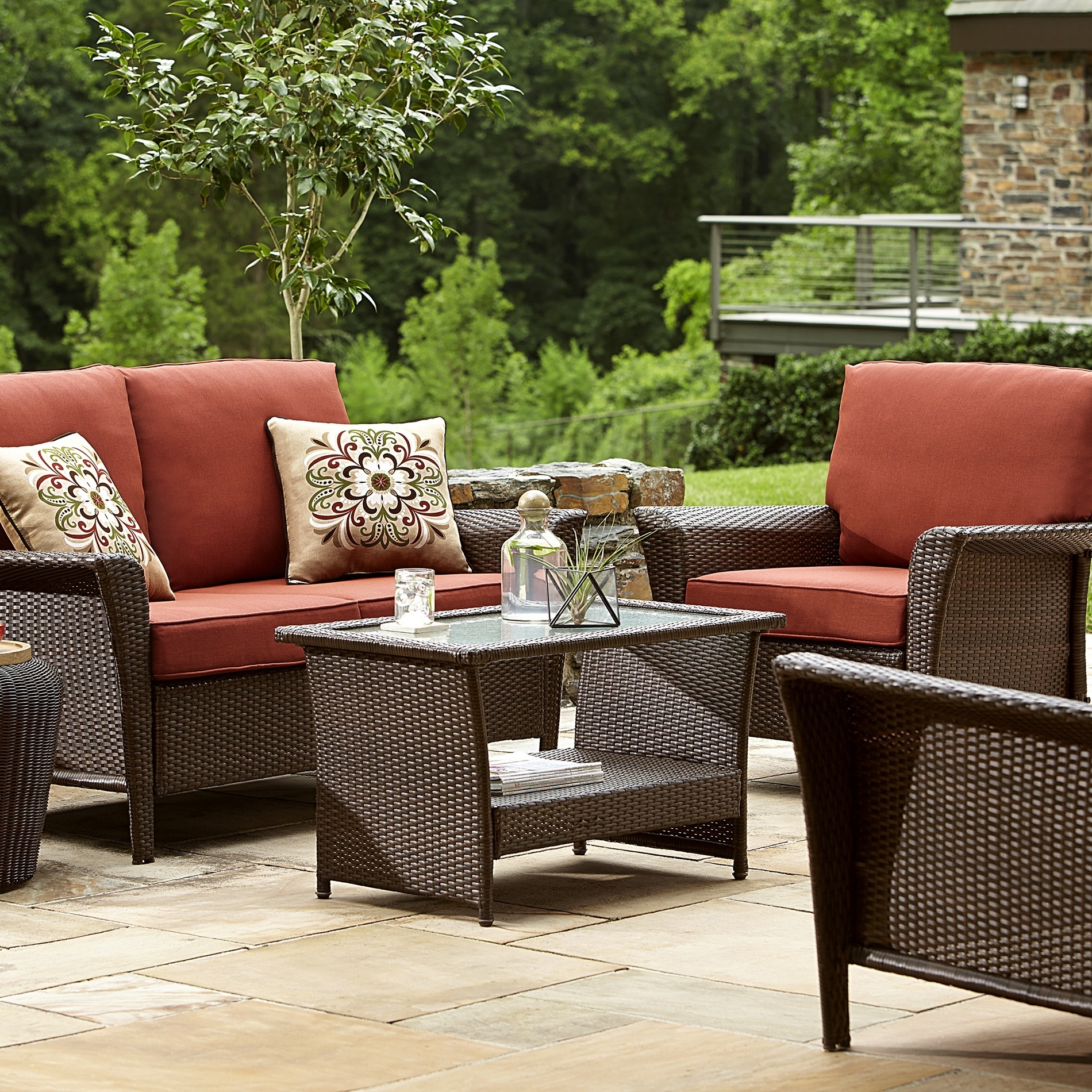 Preferred Fantastic Deep Seating Patio Furniture Clearance Dã©Cor Gallery With Sears Patio Furniture Conversation Sets (View 8 of 15)