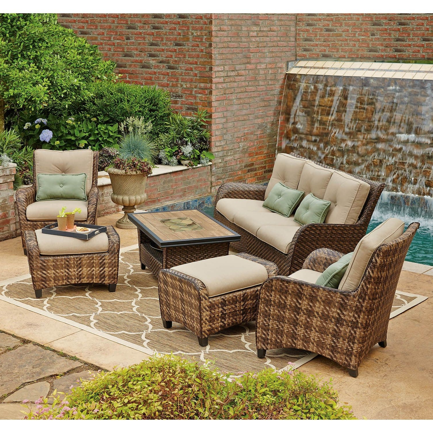 Preferred Patio Conversation Sets At Sam's Club Inside Practical Sam S Club Outdoor Patio Furniture Appealing Replacement (View 15 of 15)