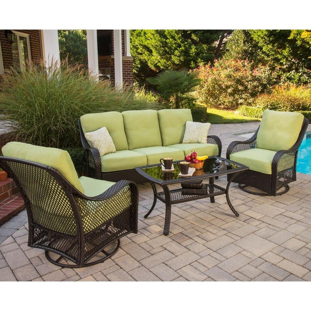 Preferred Patio Conversation Sets With Glider Within Lovable Conversation Patio Sets Exterior Decor Concept Patio (View 4 of 15)
