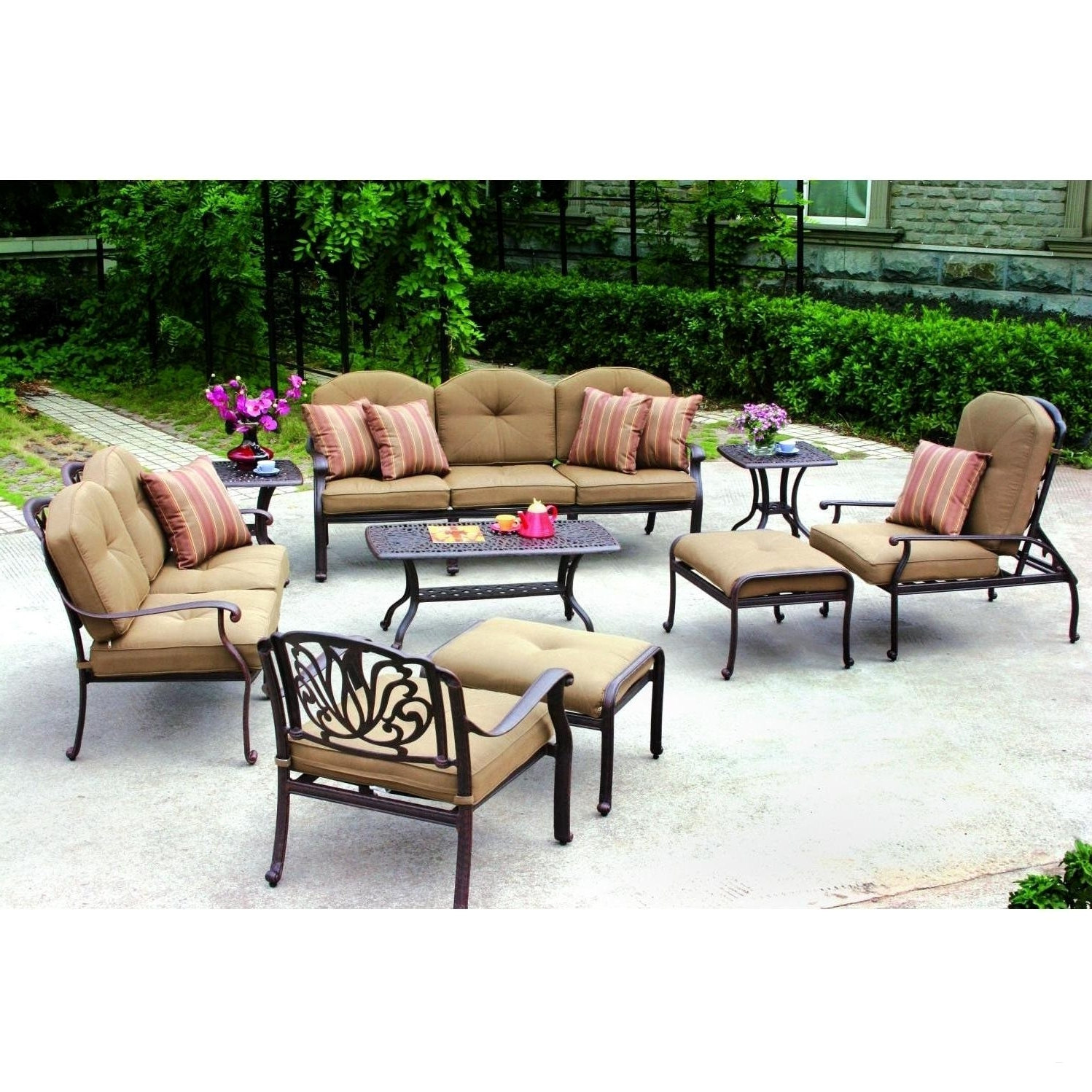 Preferred Target Patio Furniture Conversation Sets In Outdoor Fire Pit Seating Conversation Chairs 3 Piece Patio Set (View 4 of 15)