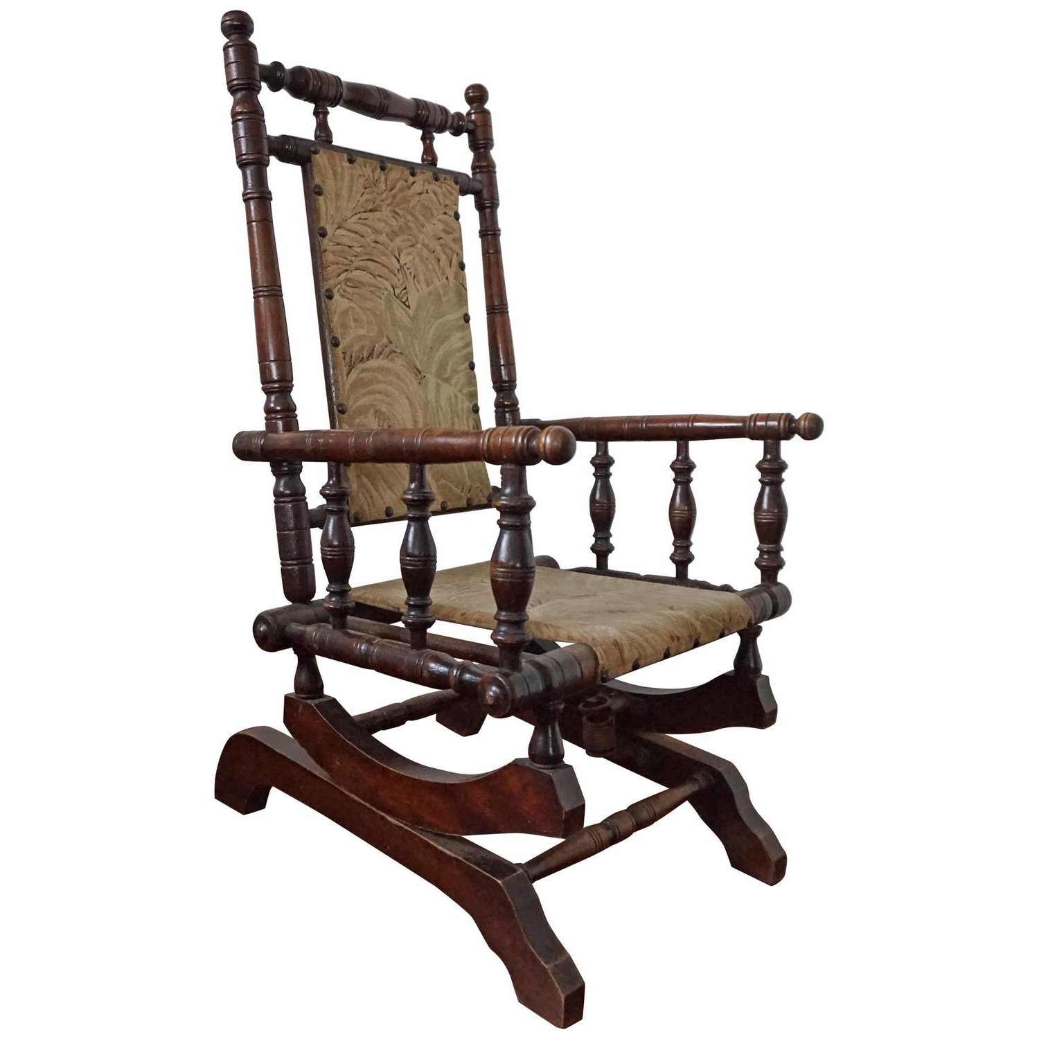 Rare Antique Rocking Chair For Children American Rocker For Child Or Toy  Bear With Recent Antique Rocking Chairs (View 13 of 15)