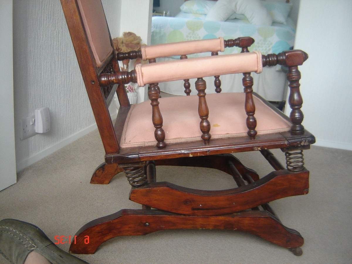 Recent Dexter Rocking Chair With 6 Spring Suspension