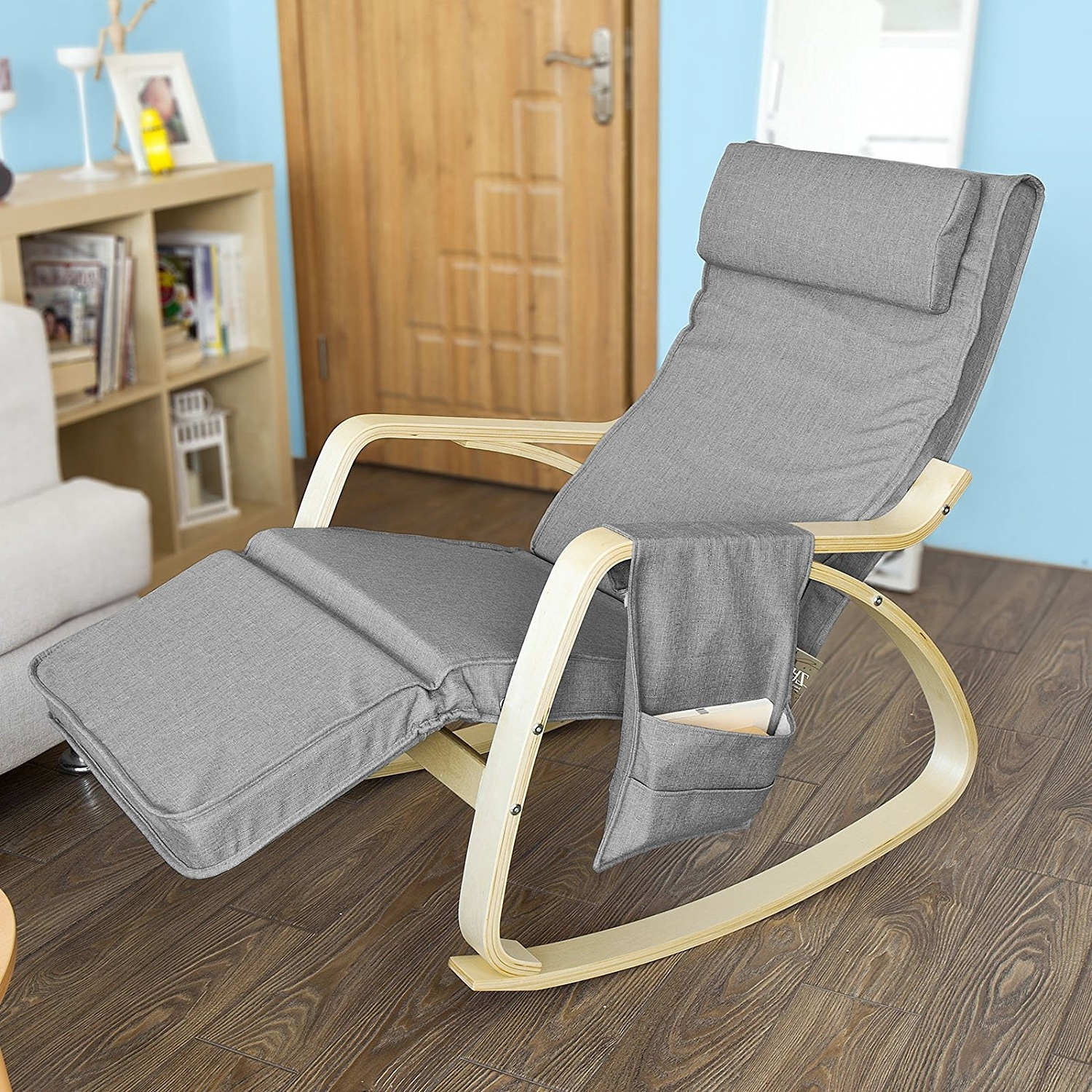 Recent Rocking Chairs With Footrest Within Rock Away Back Pain Using Rocking Chairs/inversiontableplus (View 12 of 15)